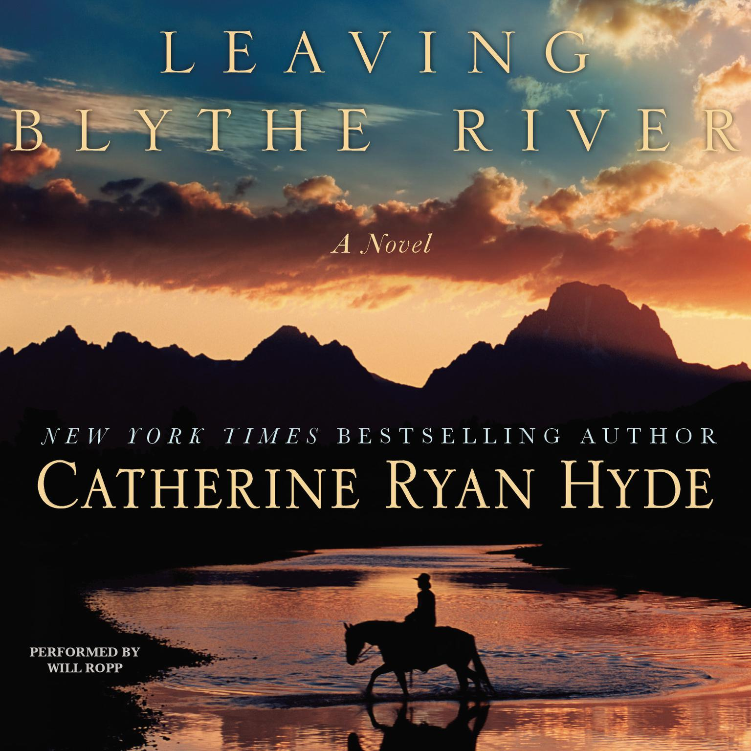 Printable Leaving Blythe River: A Novel Audiobook Cover Art