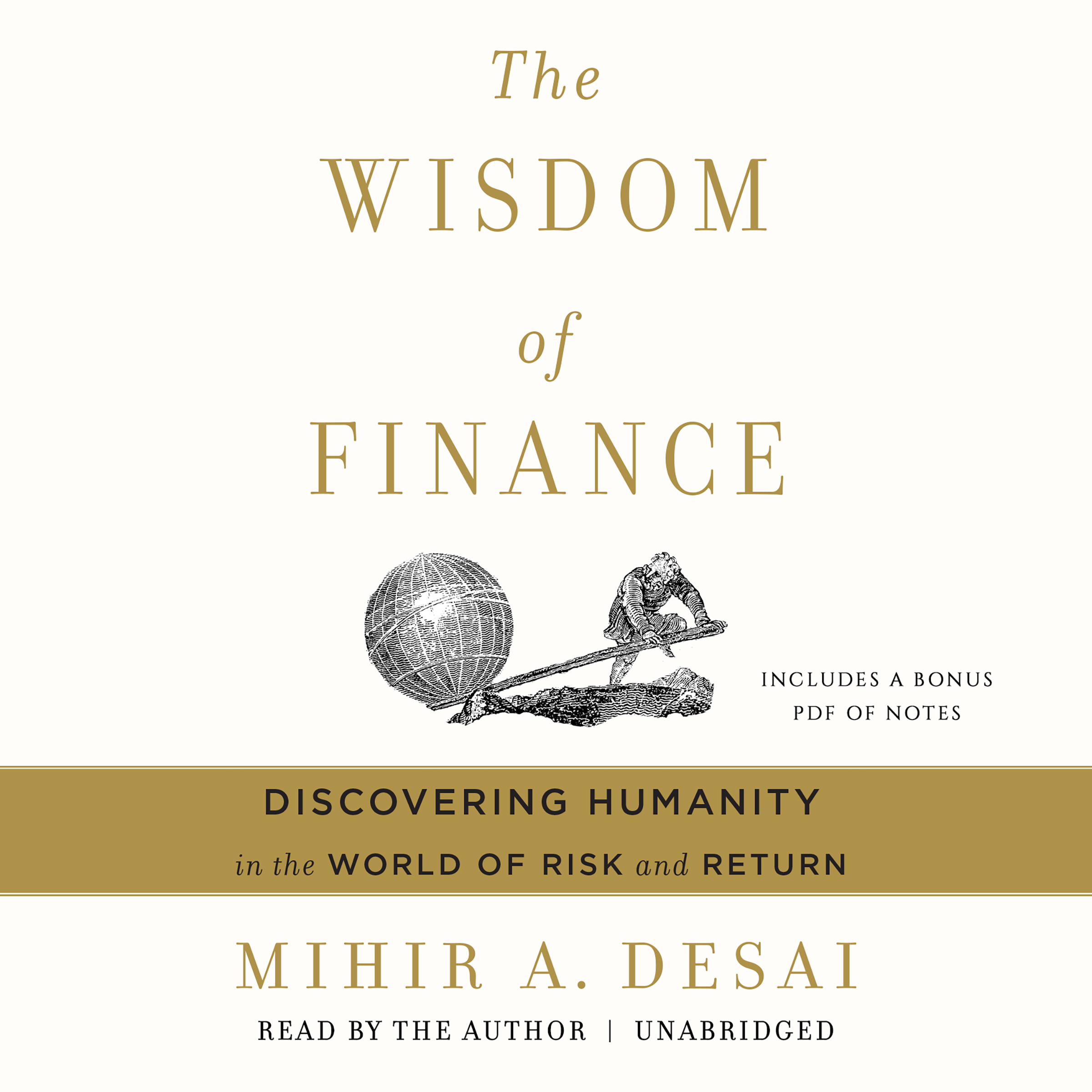 Printable The Wisdom of Finance: Discovering Humanity in the World of Risk and Return Audiobook Cover Art