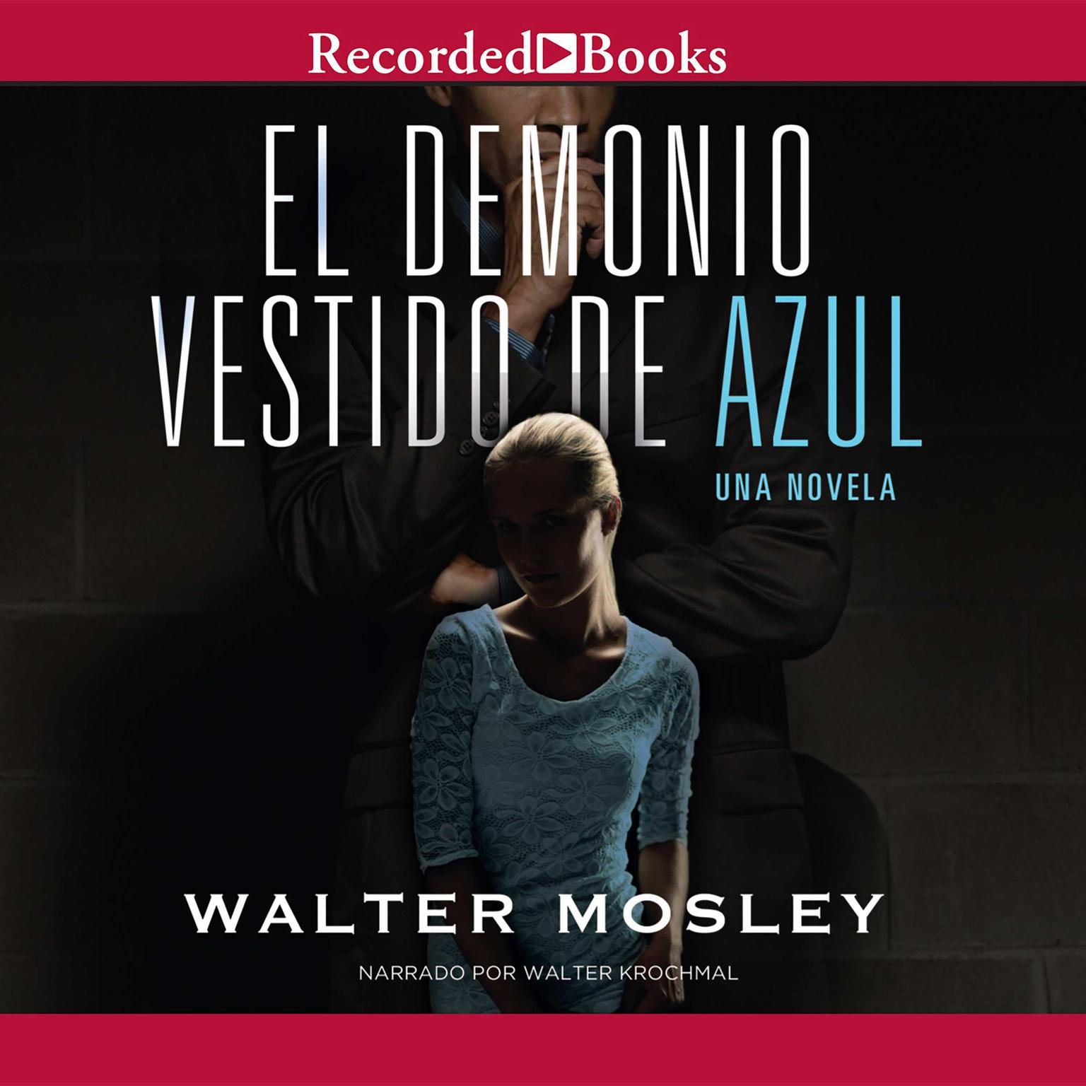 Printable El demonio vestido de azul Audiobook Cover Art