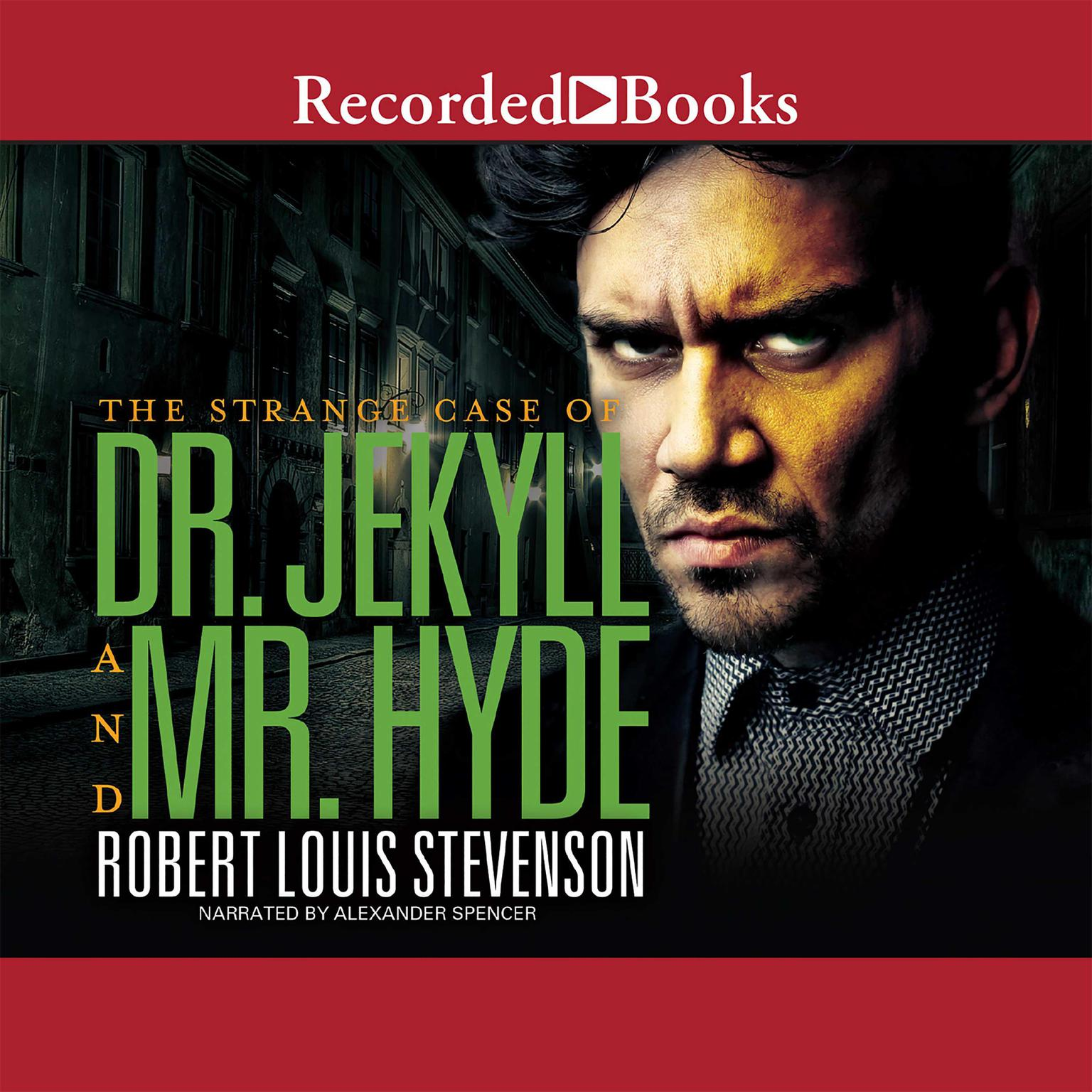 Printable Dr. Jekyll and Mr. Hyde Audiobook Cover Art