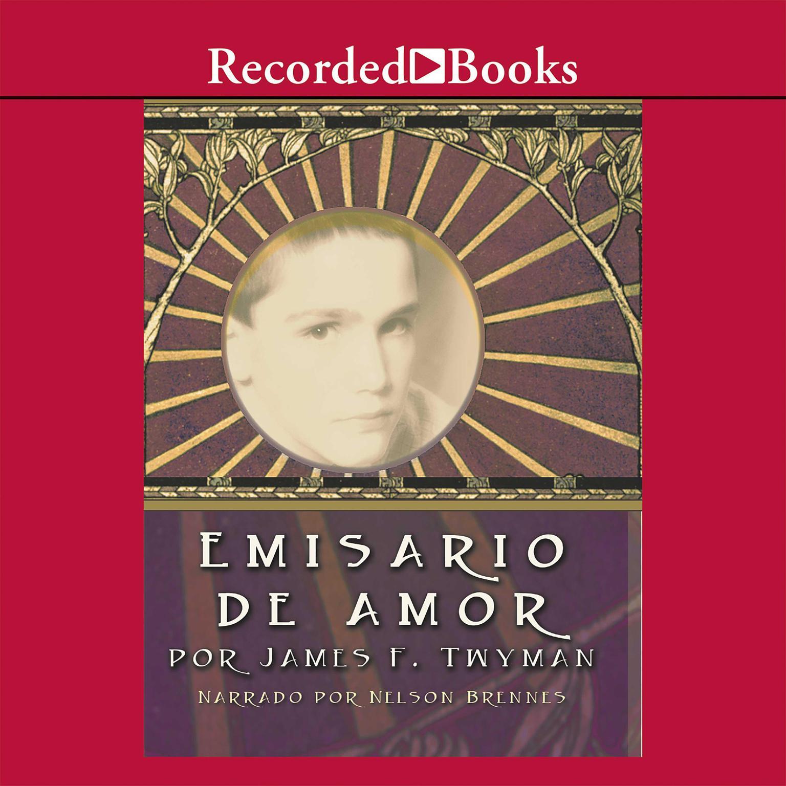 Printable Emisario de amor Audiobook Cover Art