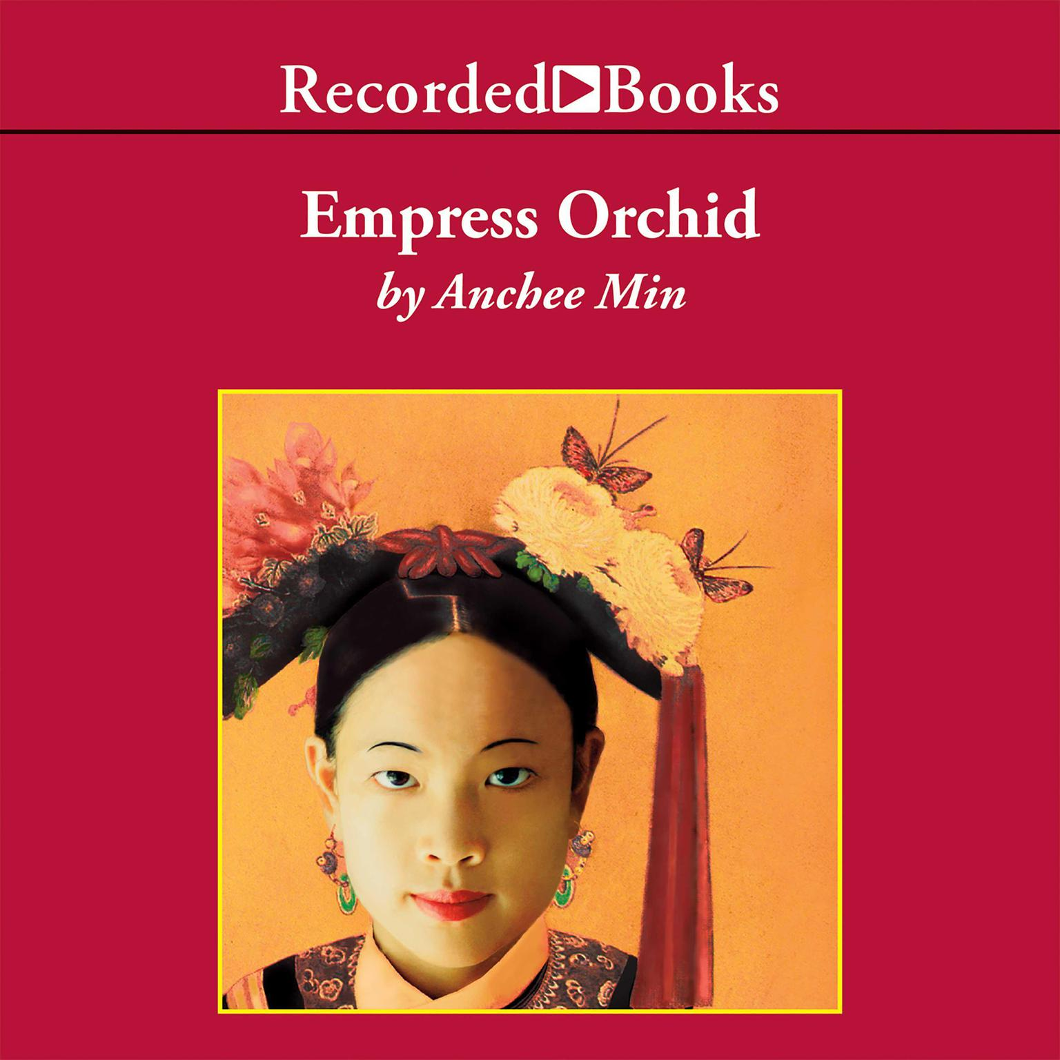 Printable Empress Orchid Audiobook Cover Art