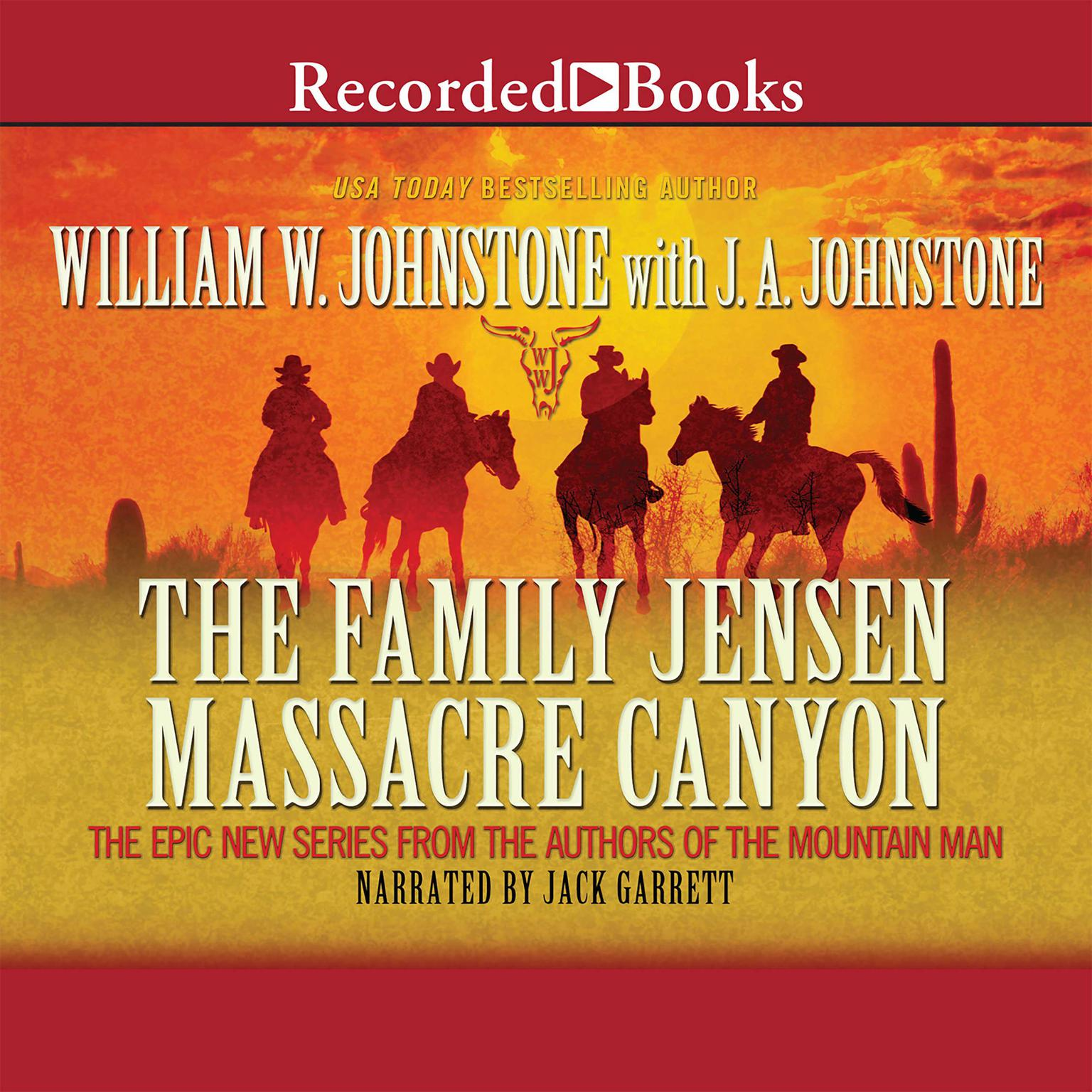 Printable Massacre Canyon Audiobook Cover Art