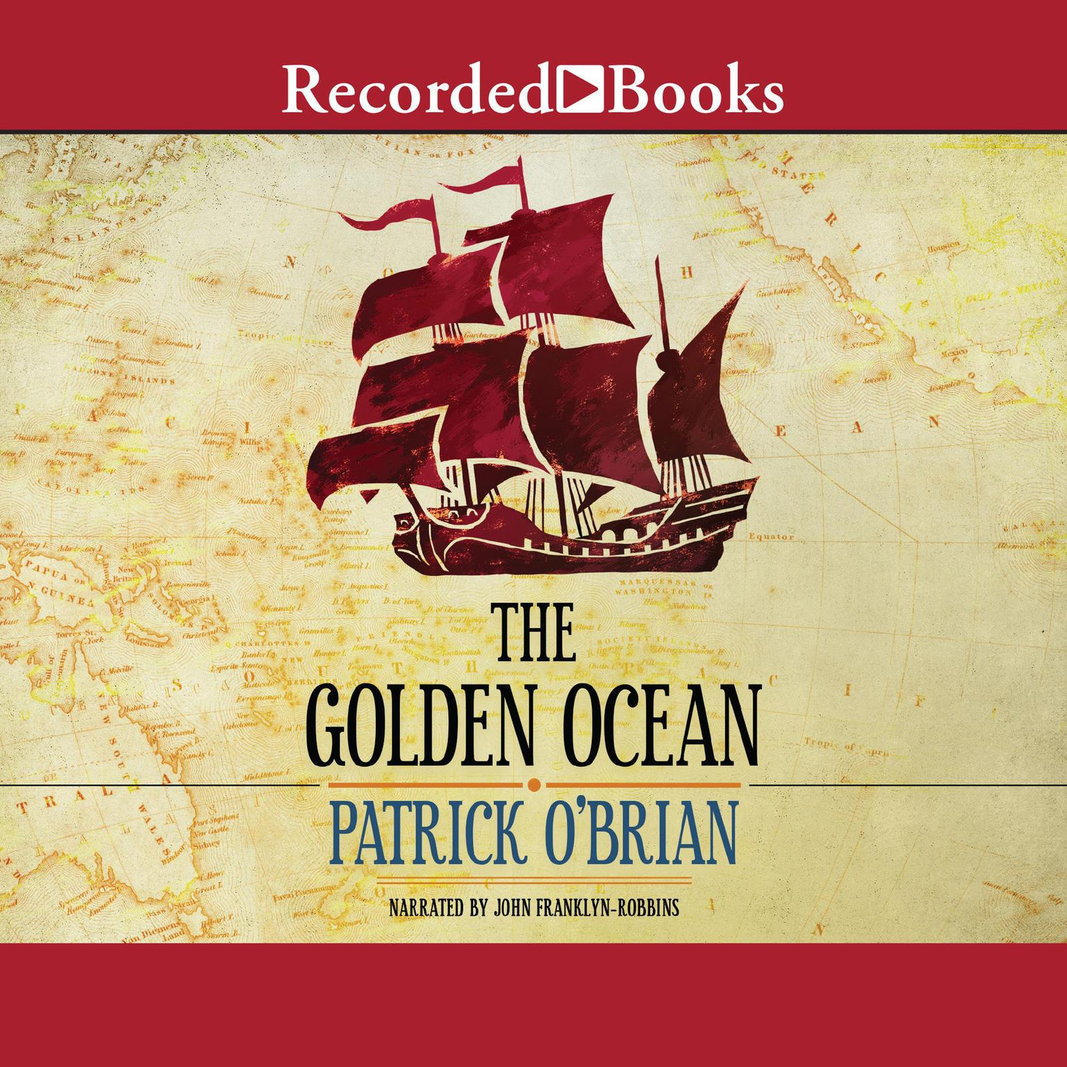 Printable The Golden Ocean Audiobook Cover Art