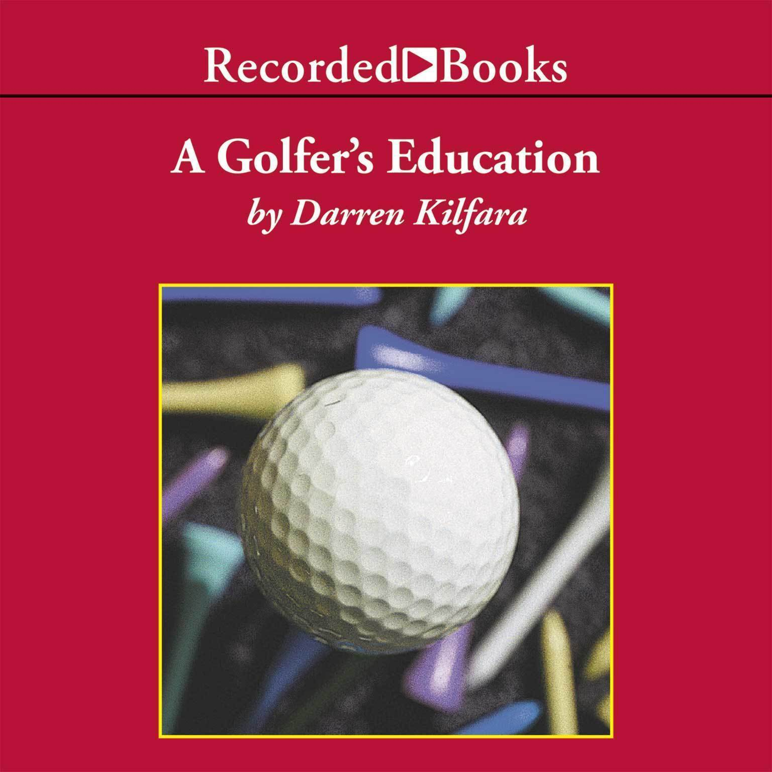 Printable A Golfer's Education Audiobook Cover Art
