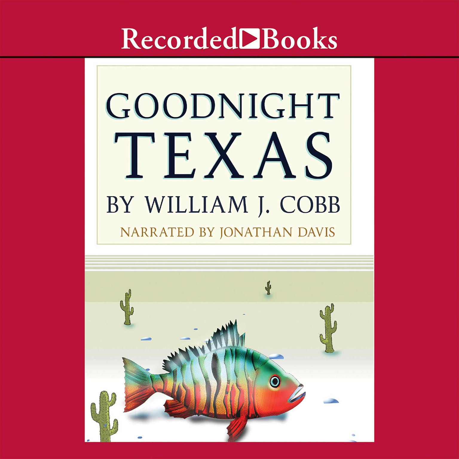 Printable Goodnight, Texas Audiobook Cover Art