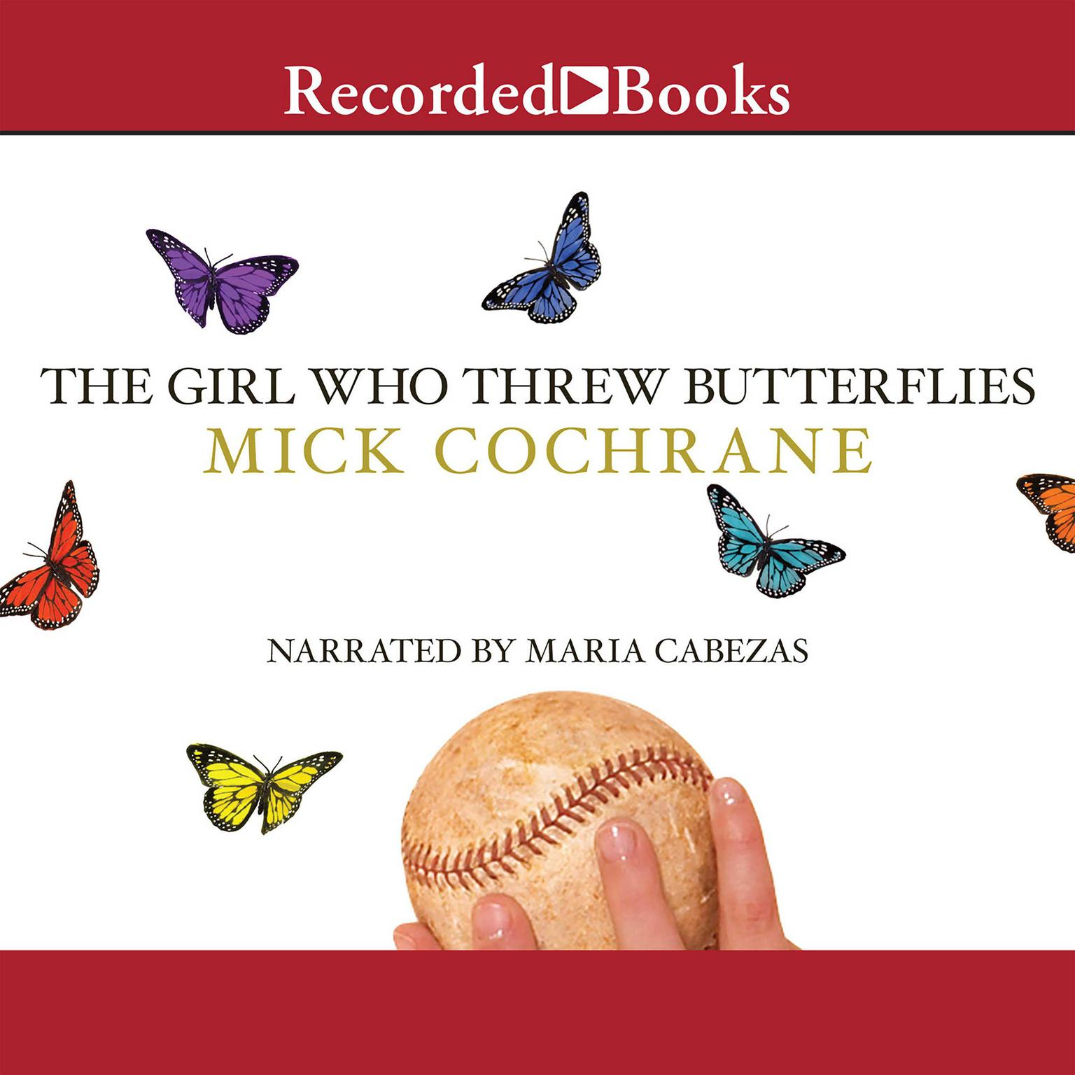 Printable The Girl Who Threw Butterflies Audiobook Cover Art