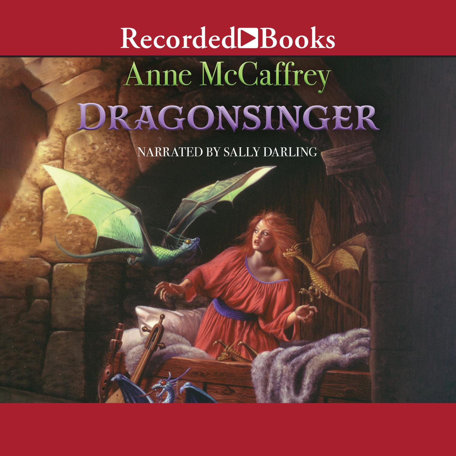 Printable Dragonsinger Audiobook Cover Art