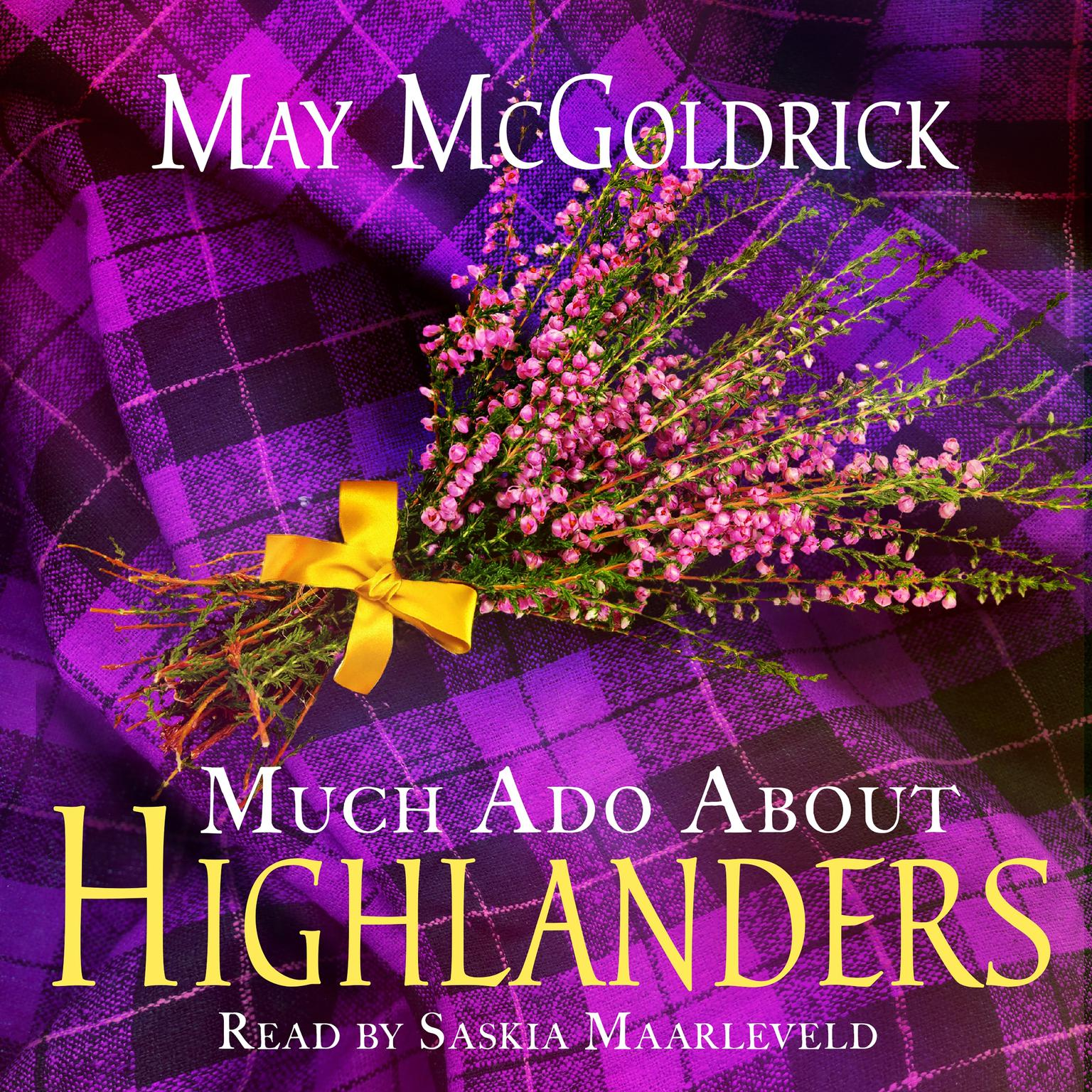 Printable Much Ado About Highlanders Audiobook Cover Art