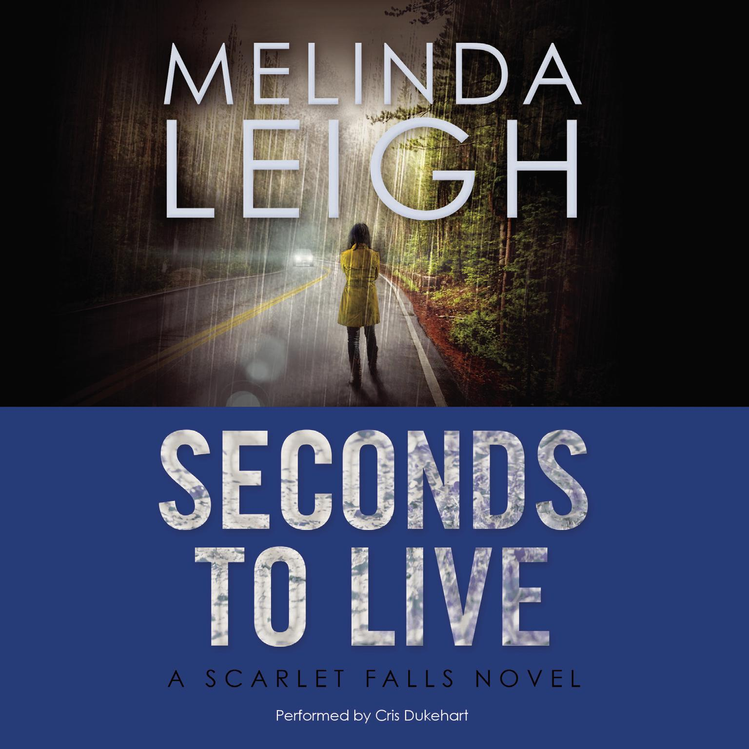 Printable Seconds to Live Audiobook Cover Art