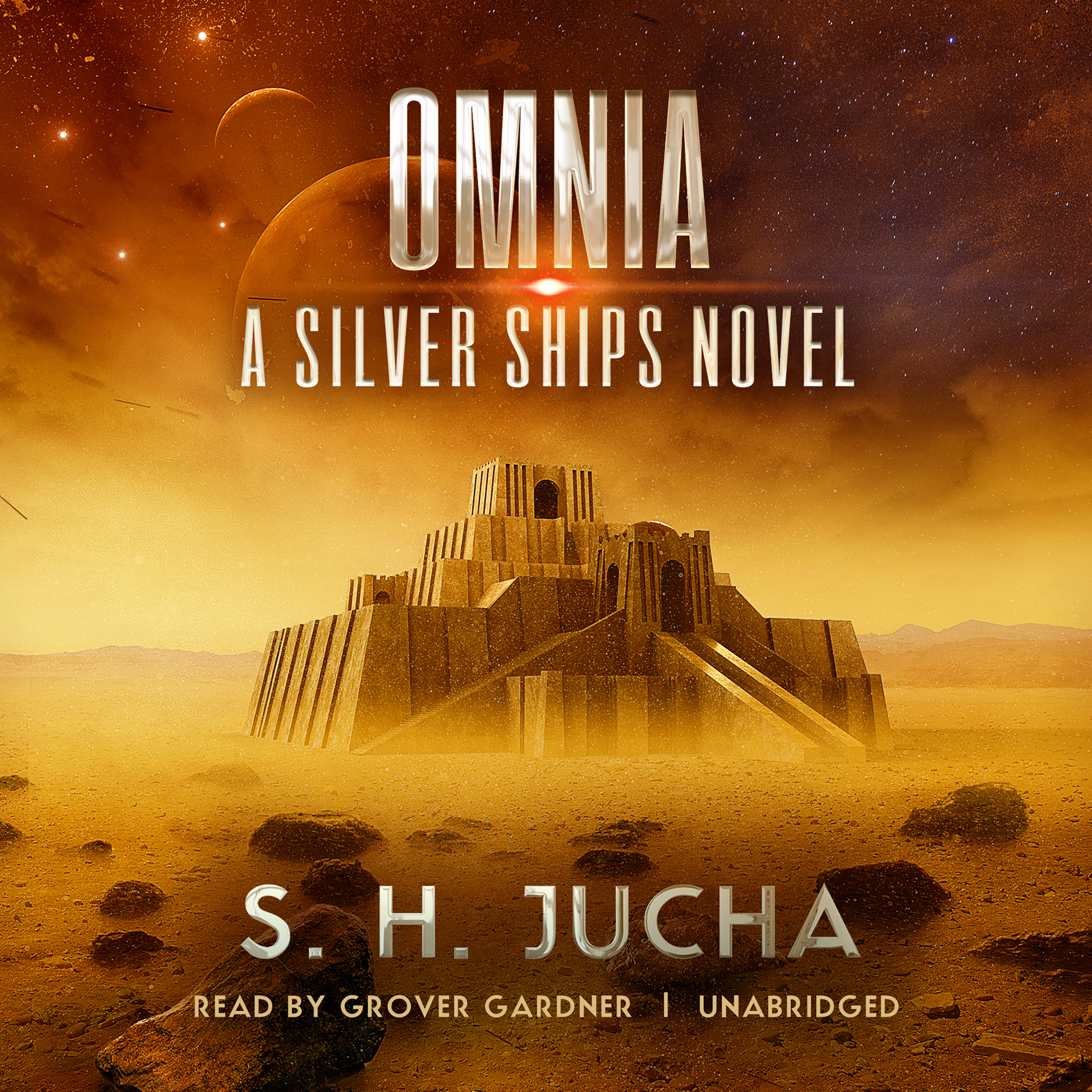 Printable Omnia: A Silver Ships Novel Audiobook Cover Art