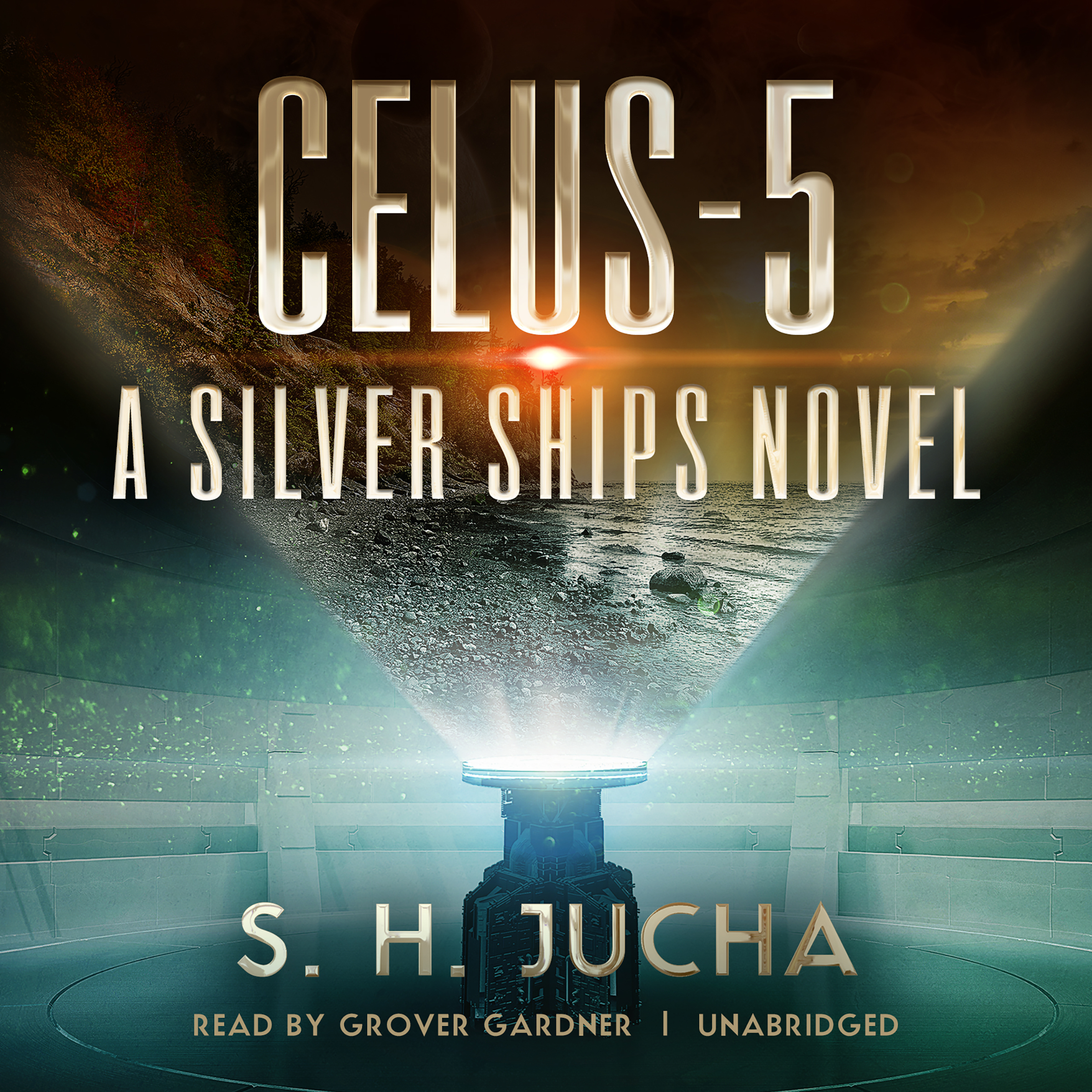 Printable Celus-5: A Silver Ships Novel Audiobook Cover Art