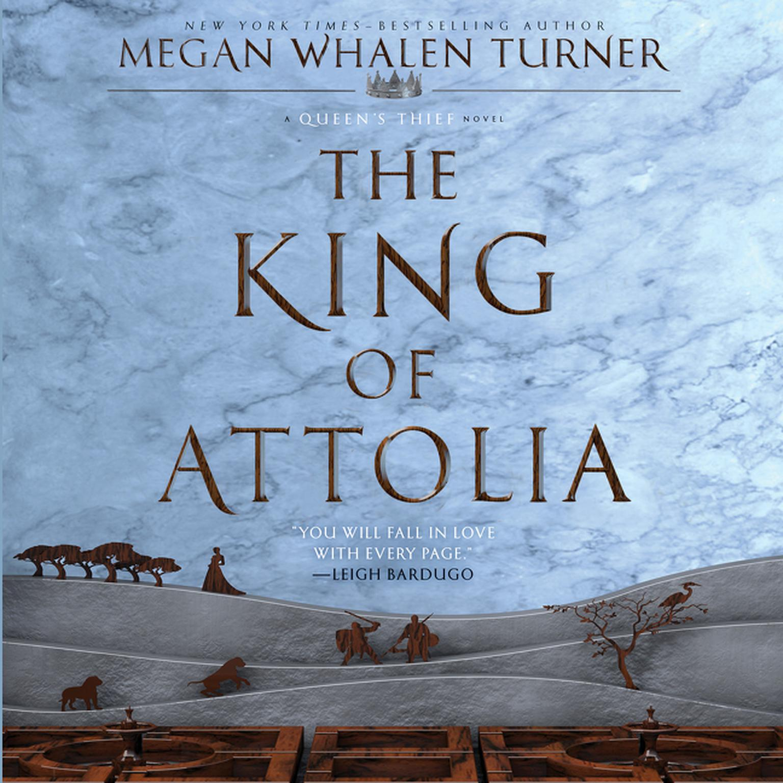 Printable The King of Attolia: A Queen's Thief Novel Audiobook Cover Art