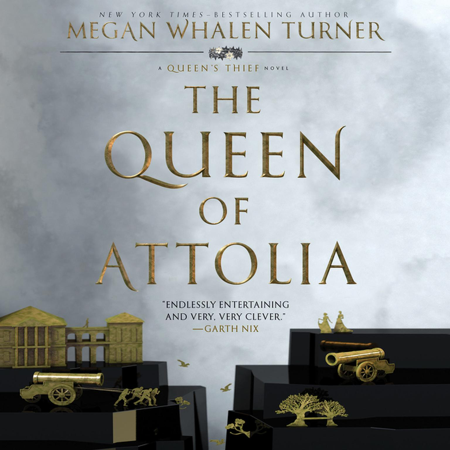 Printable The Queen of Attolia: A Queen's Thief Novel Audiobook Cover Art