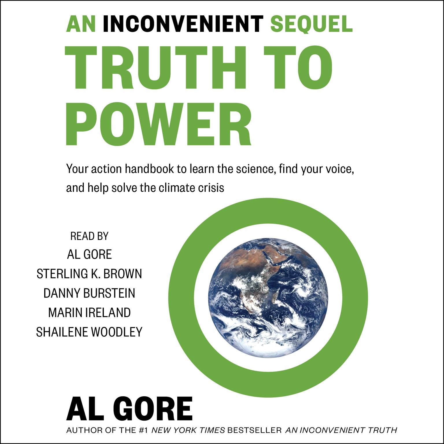 Printable An Inconvenient Sequel: Truth to Power Audiobook Cover Art