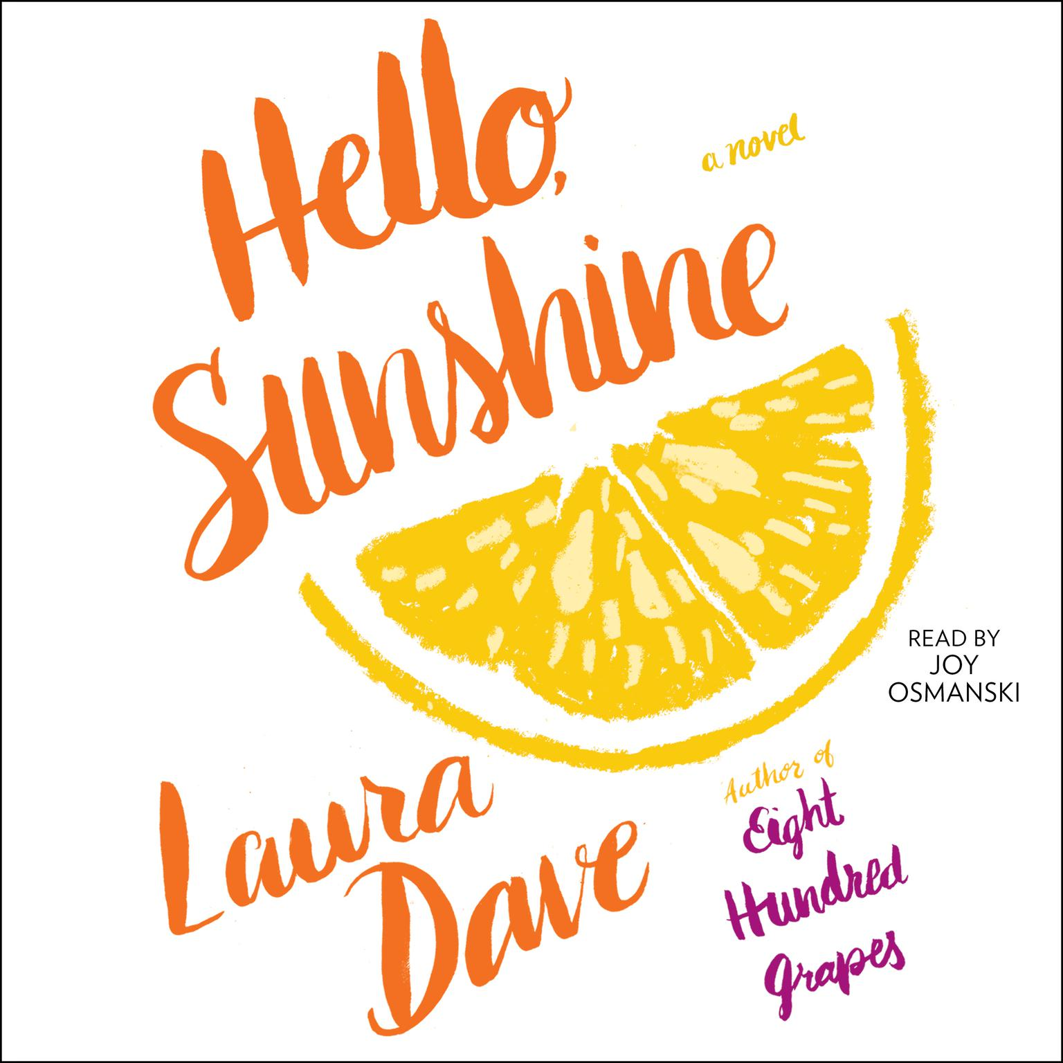 Printable Hello, Sunshine Audiobook Cover Art