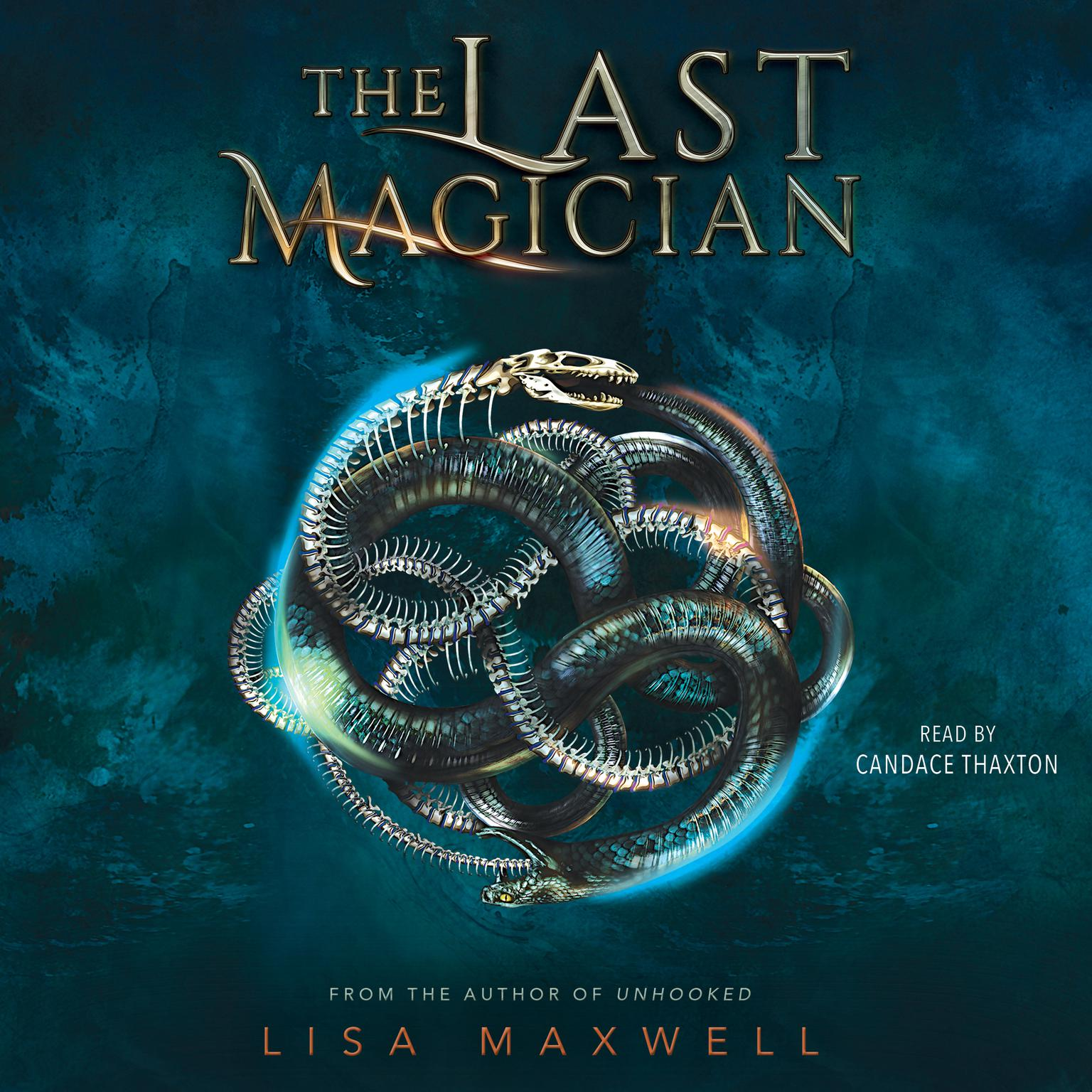 Printable The Last Magician Audiobook Cover Art