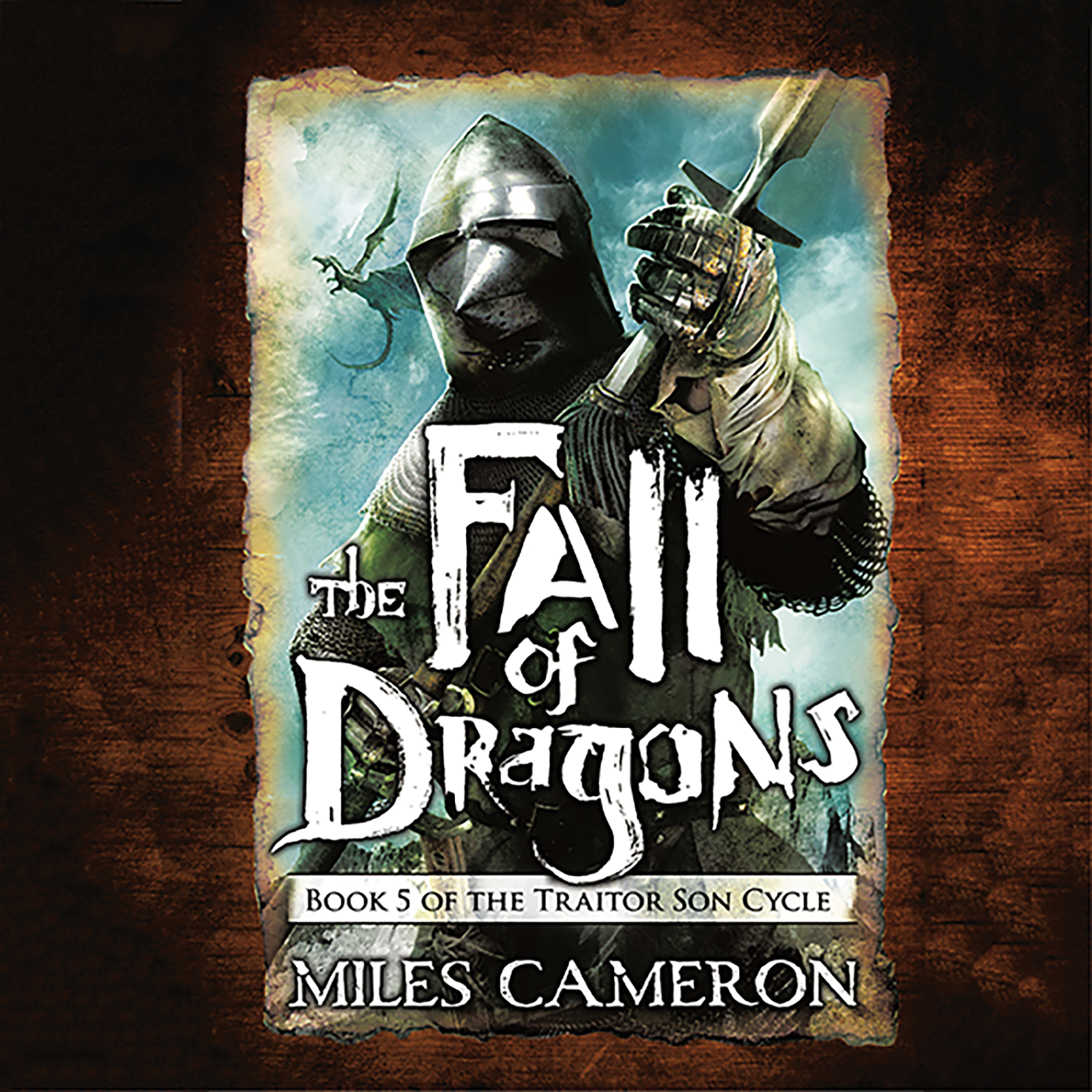 Printable The Fall of Dragons Audiobook Cover Art