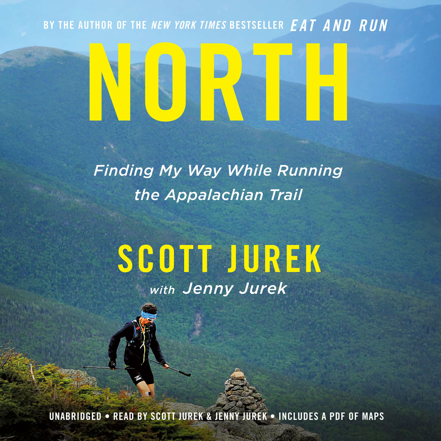 Printable North: Finding My Way While Running the Appalachian Trail Audiobook Cover Art