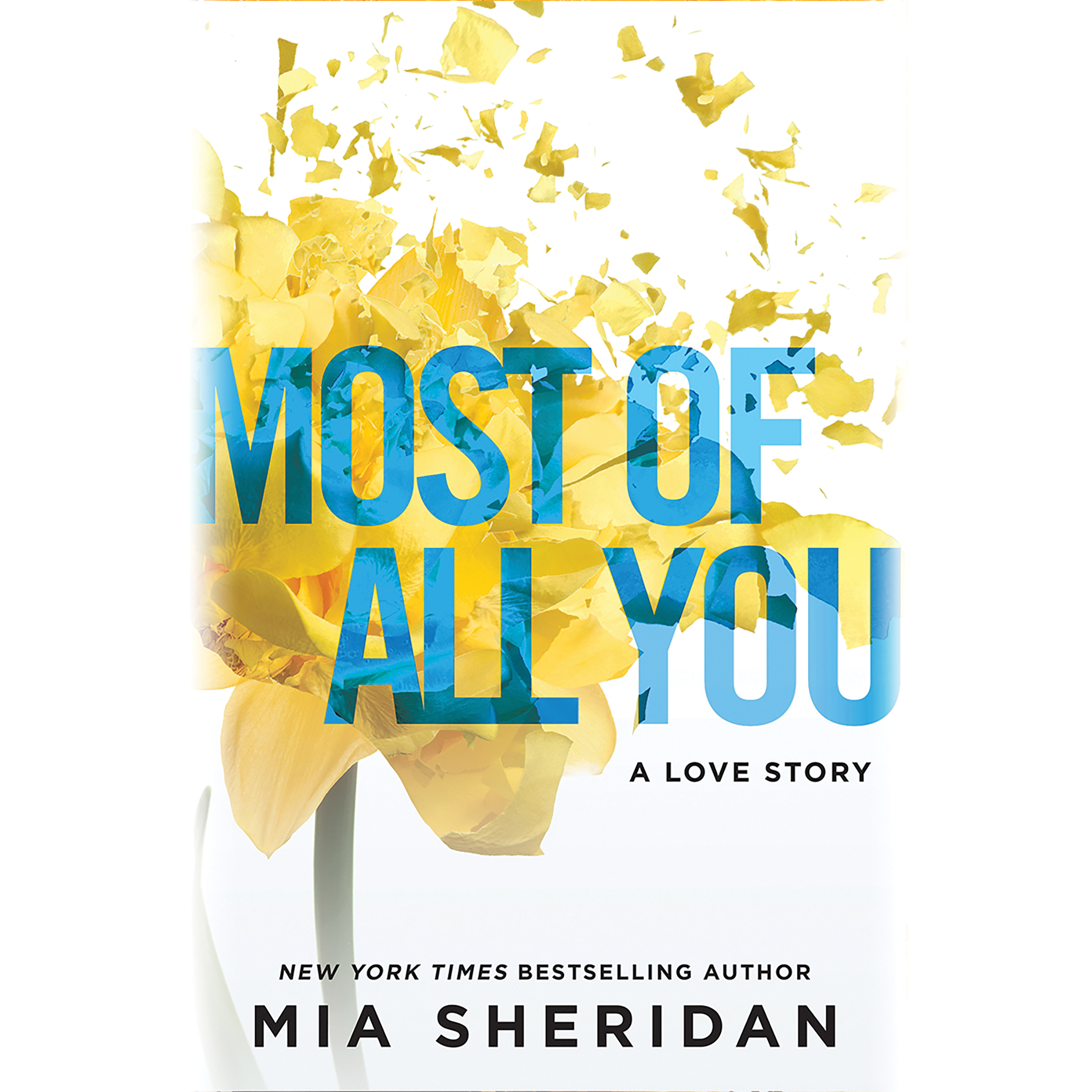 Printable Most of All You: A Love Story Audiobook Cover Art