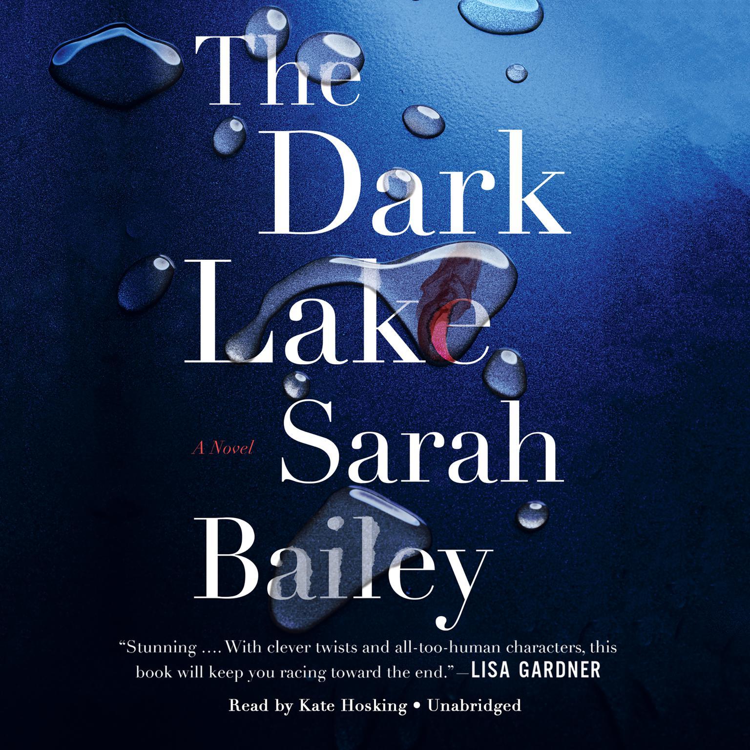 Printable The Dark Lake Audiobook Cover Art