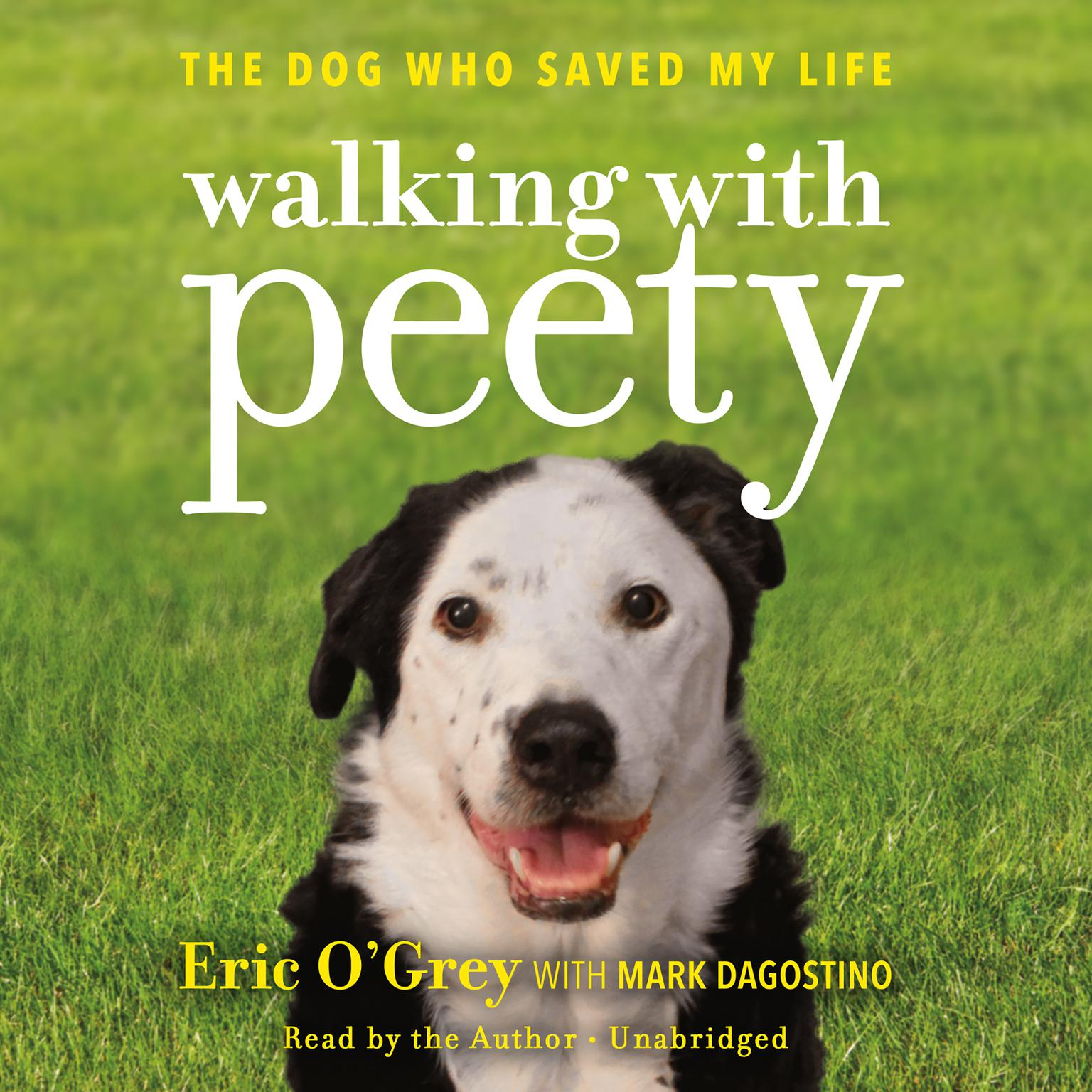 Printable Walking with Peety: The Dog Who Saved My Life Audiobook Cover Art