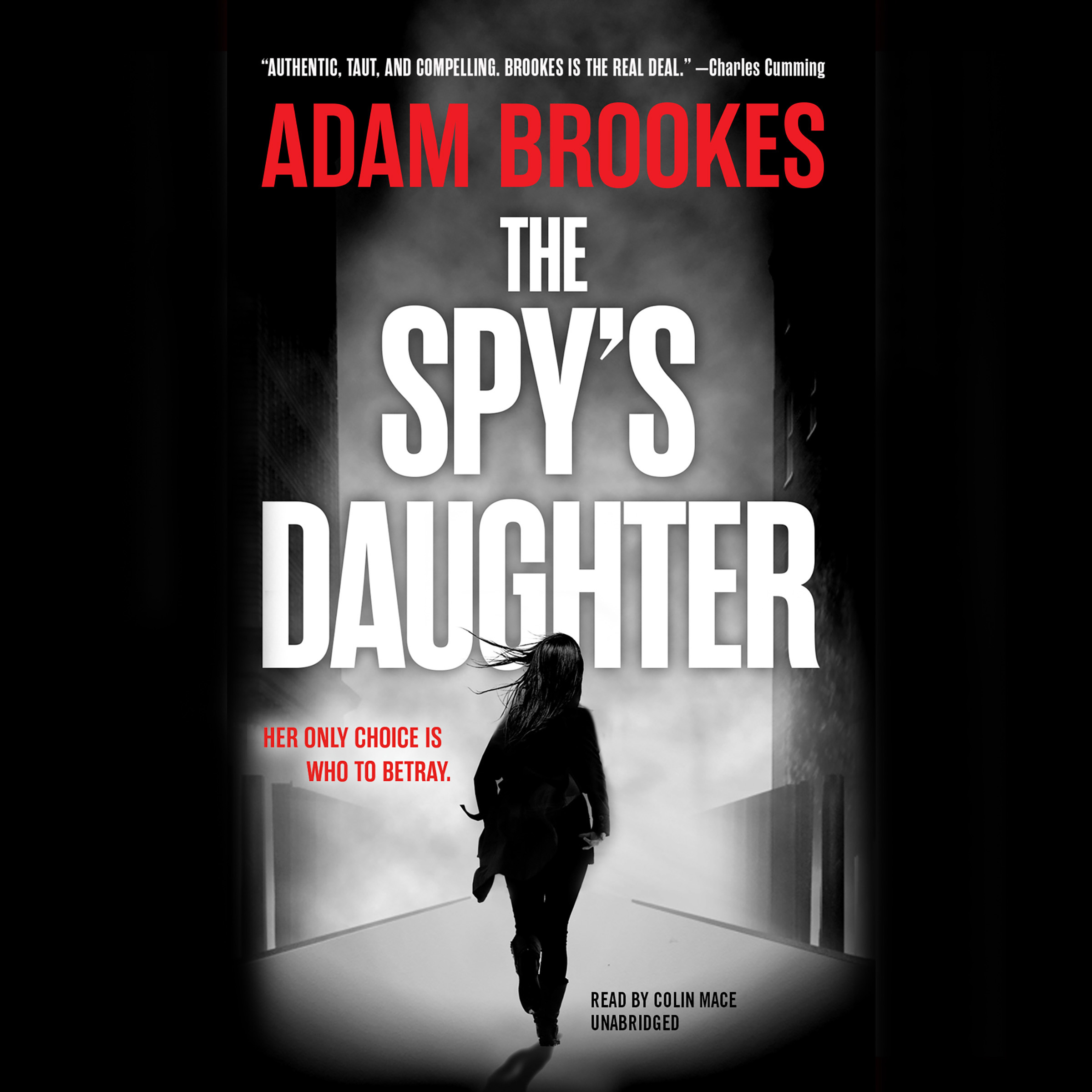 Printable The Spy's Daughter Audiobook Cover Art