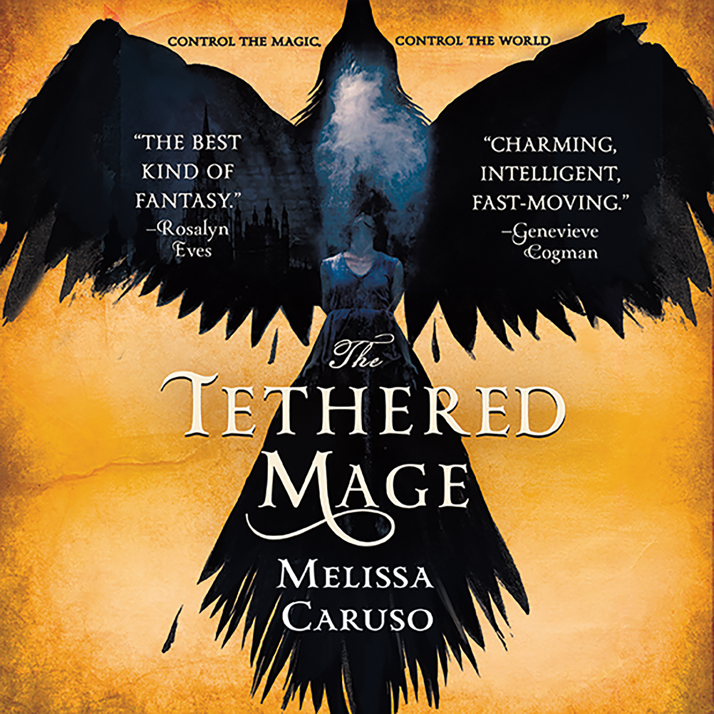 Printable The Tethered Mage Audiobook Cover Art