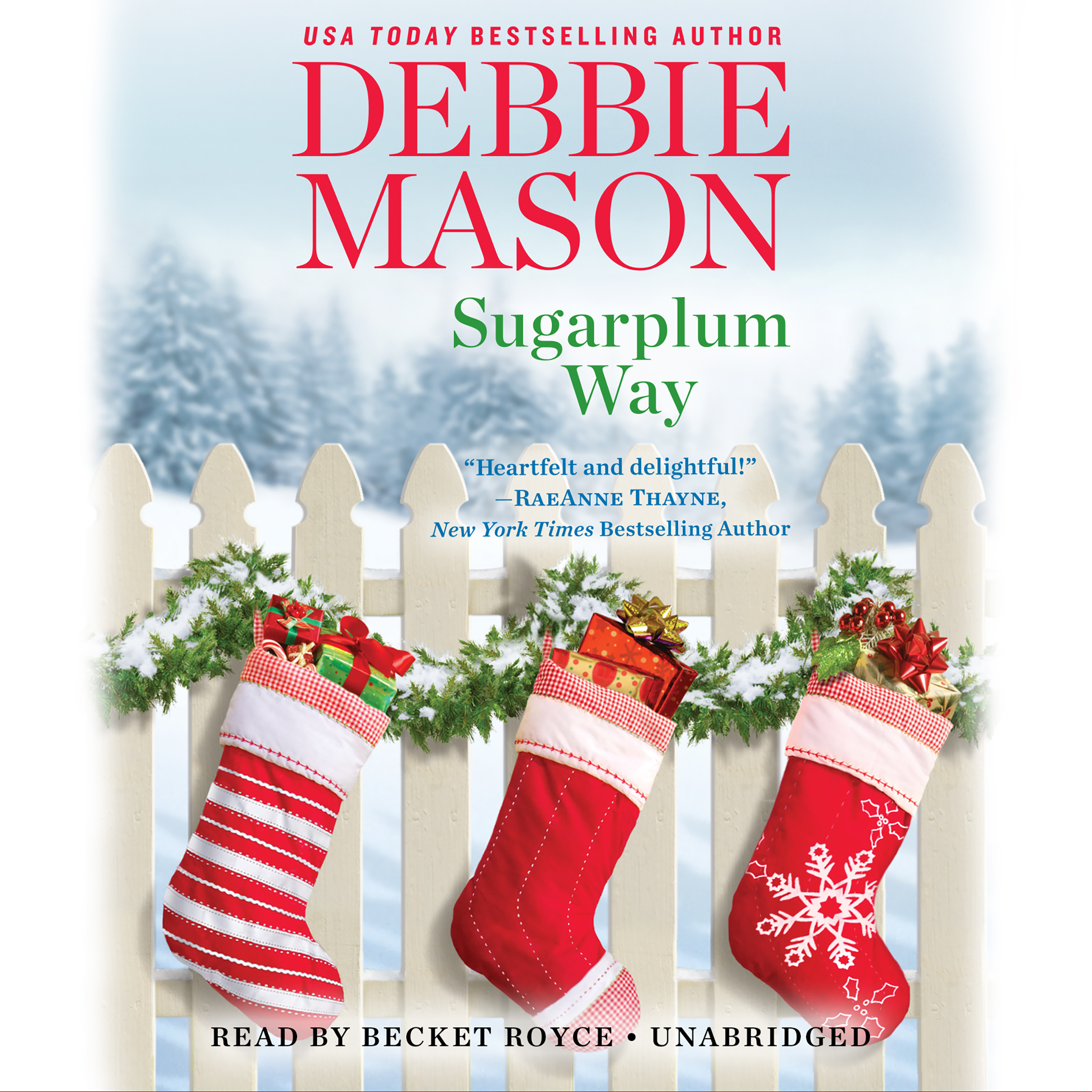 Printable Sugarplum Way Audiobook Cover Art