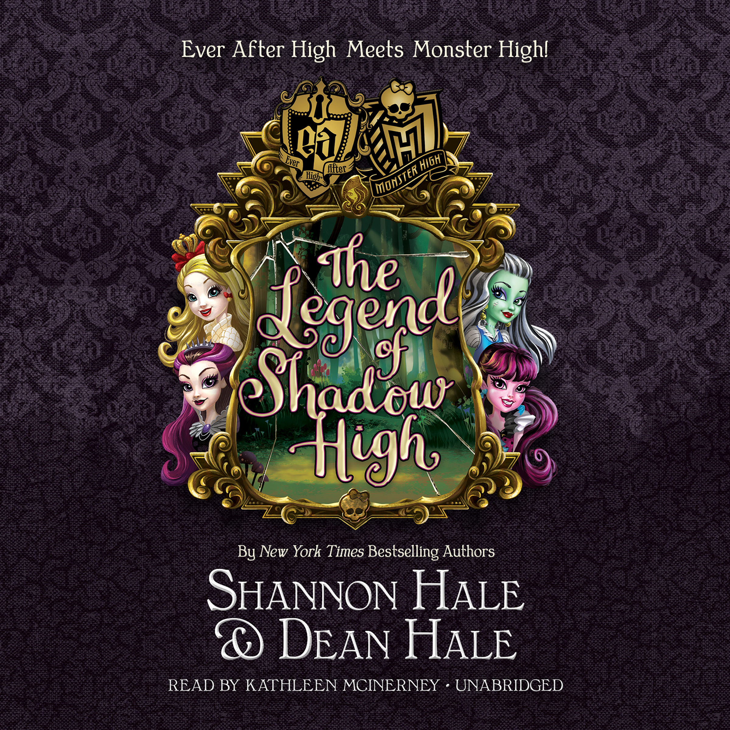 Printable Monster High / Ever After High: The Legend of Shadow High Audiobook Cover Art