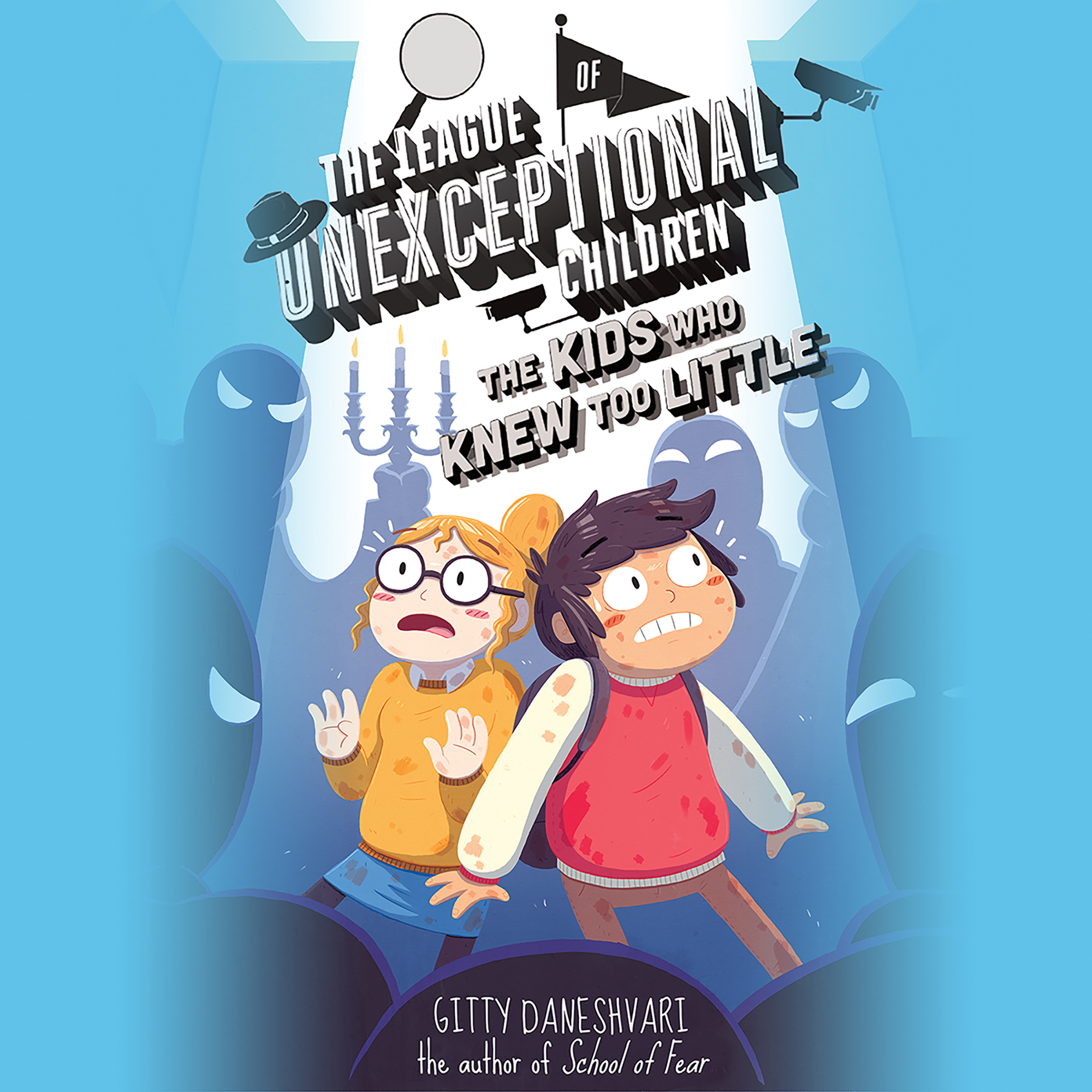 Printable The League of Unexceptional Children: The Kids Who Knew Too Little Audiobook Cover Art