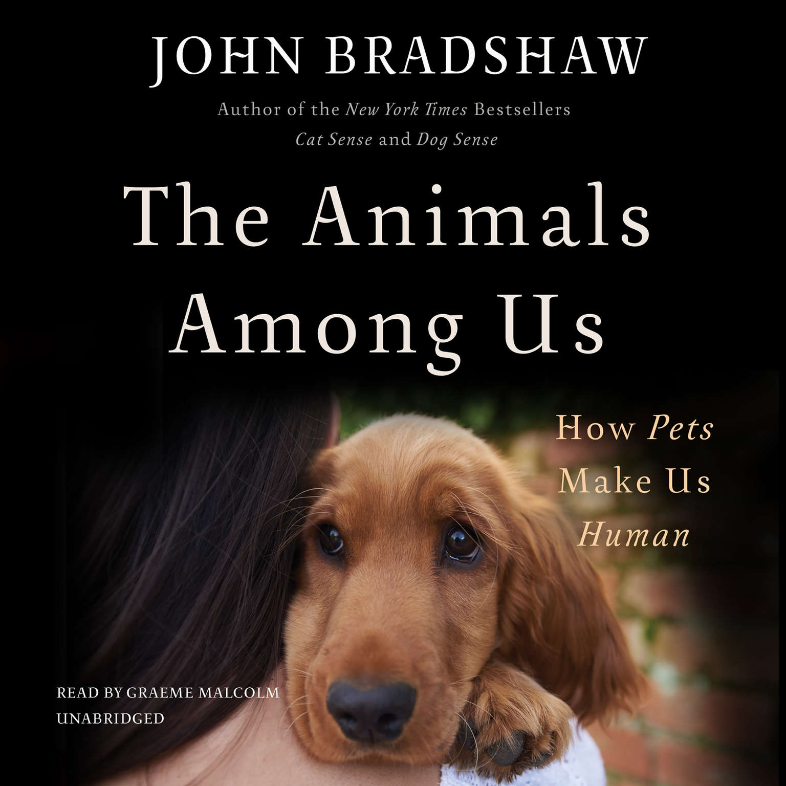 Printable The Animals among Us: How Pets Make Us Human Audiobook Cover Art