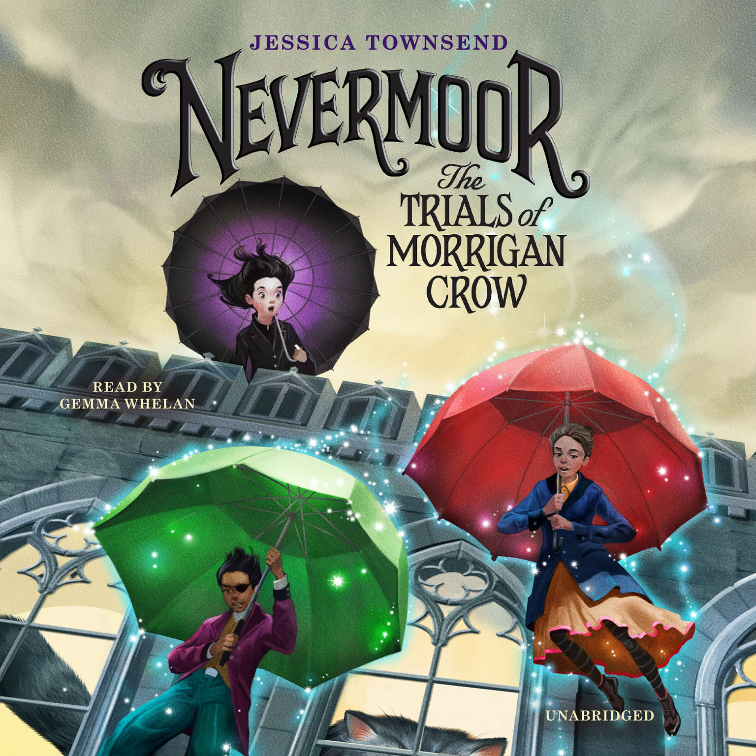 Printable Nevermoor:  The Trials of Morrigan Crow Audiobook Cover Art