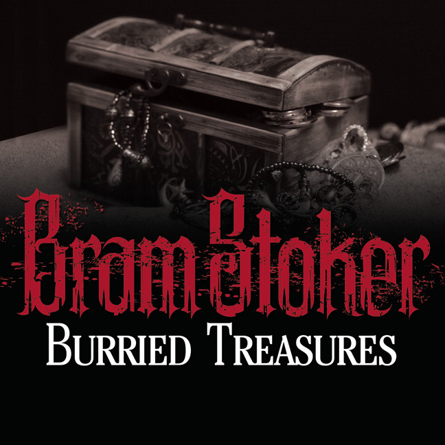 Printable Buried Treasures Audiobook Cover Art