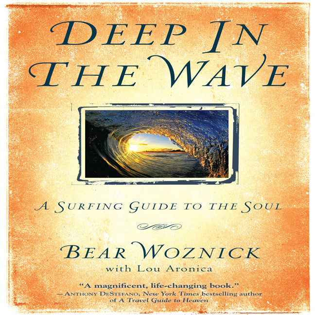 Printable Deep in the Wave: A Surfing Guide to the Soul Audiobook Cover Art