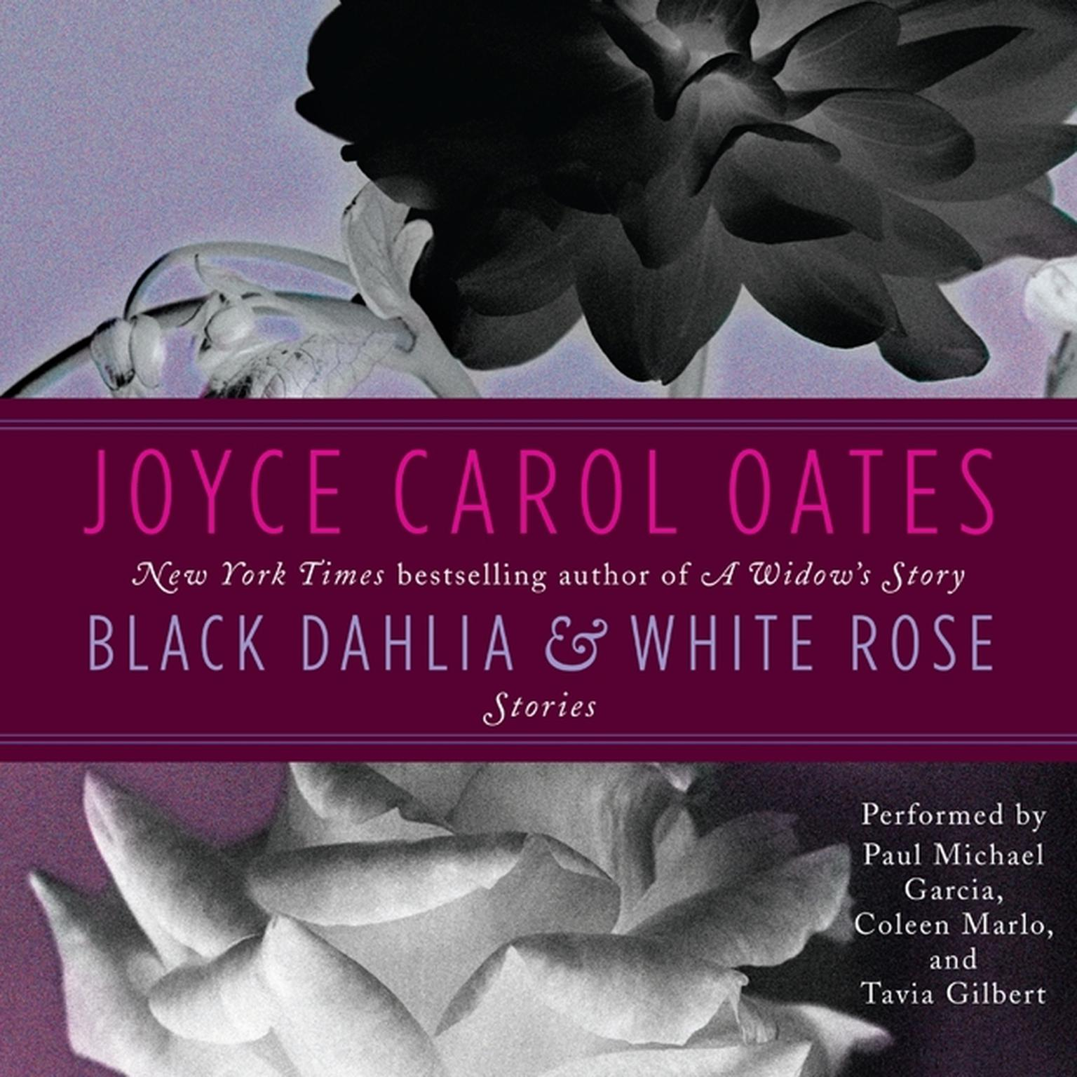 Printable Black Dahlia & White Rose: Stories Audiobook Cover Art