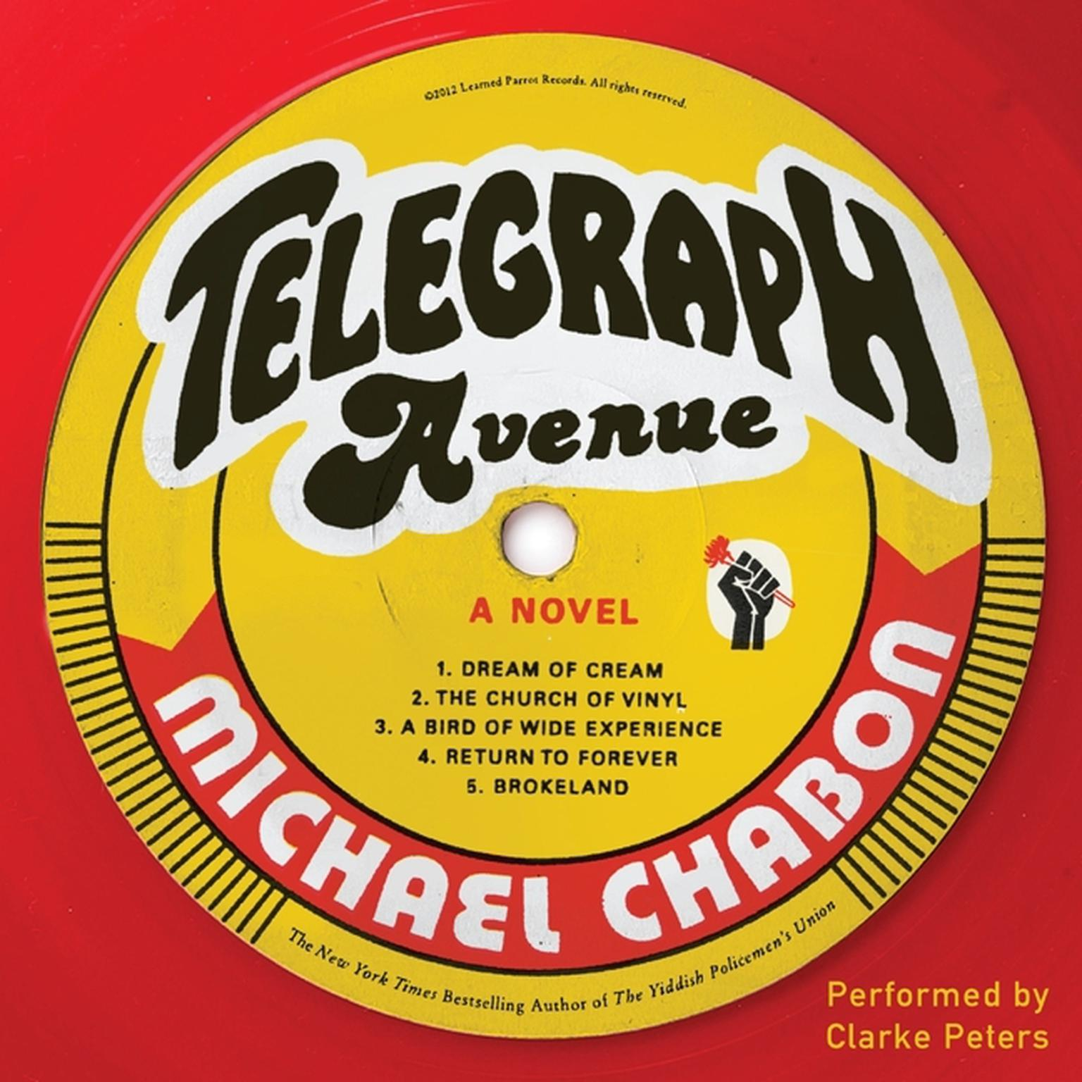 Printable Telegraph Avenue: A Novel Audiobook Cover Art