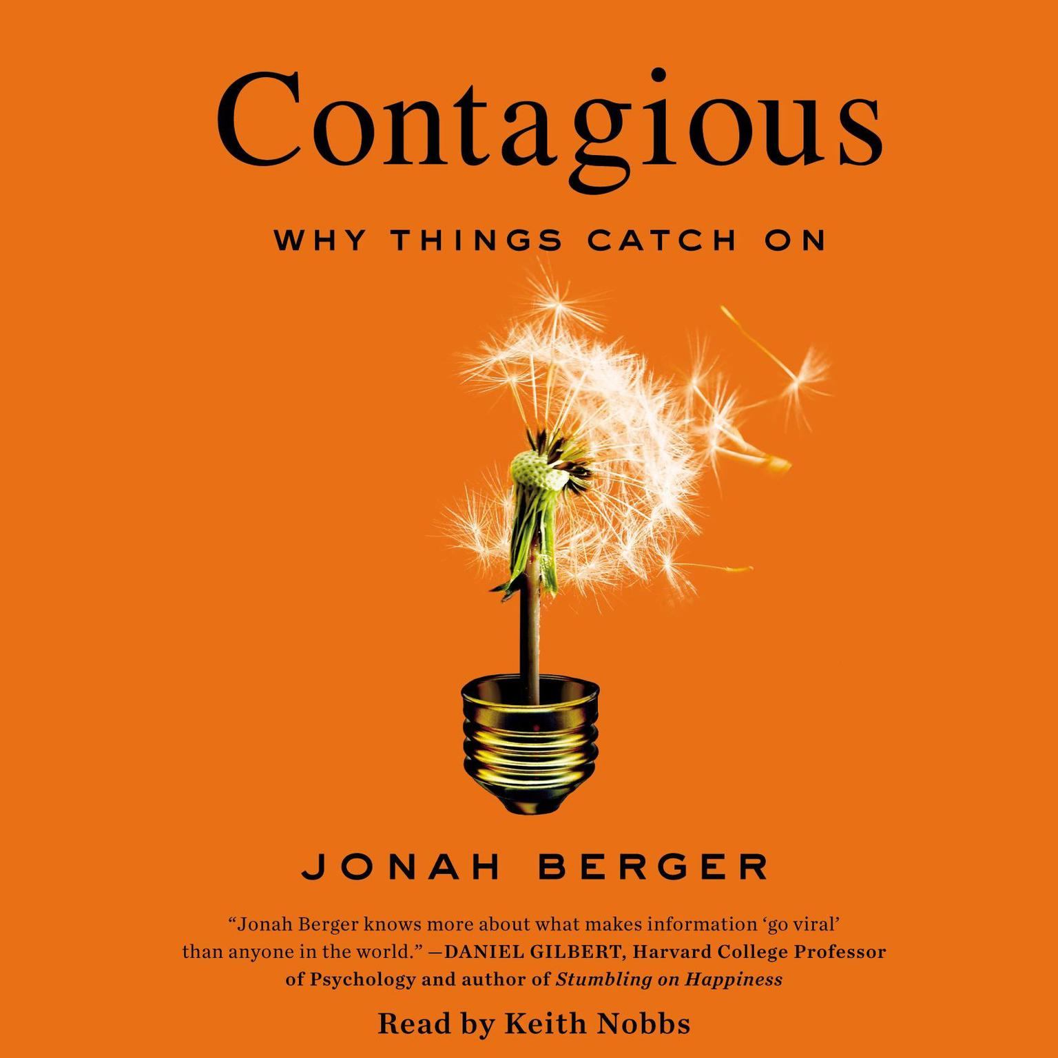 Printable Contagious: Why Things Catch On Audiobook Cover Art