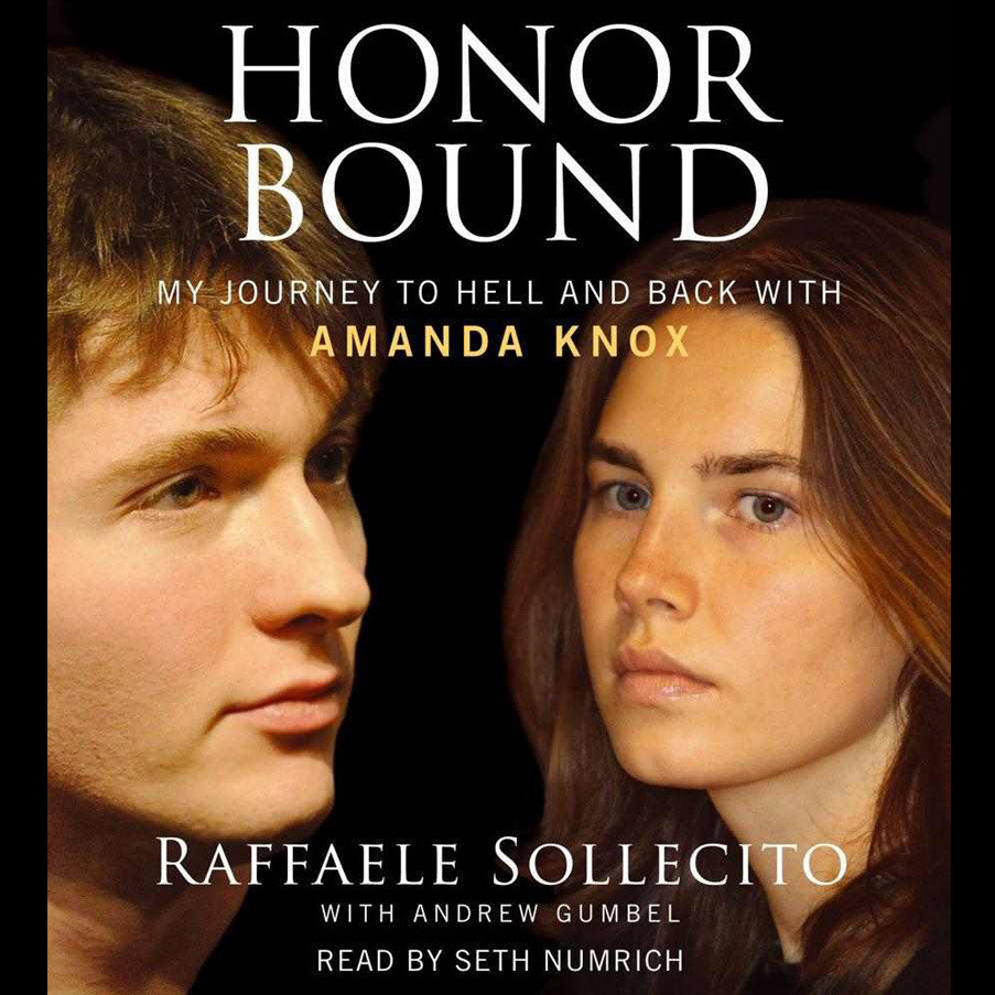 Printable Honor Bound: My Journey to Hell and Back with Amanda Knox Audiobook Cover Art