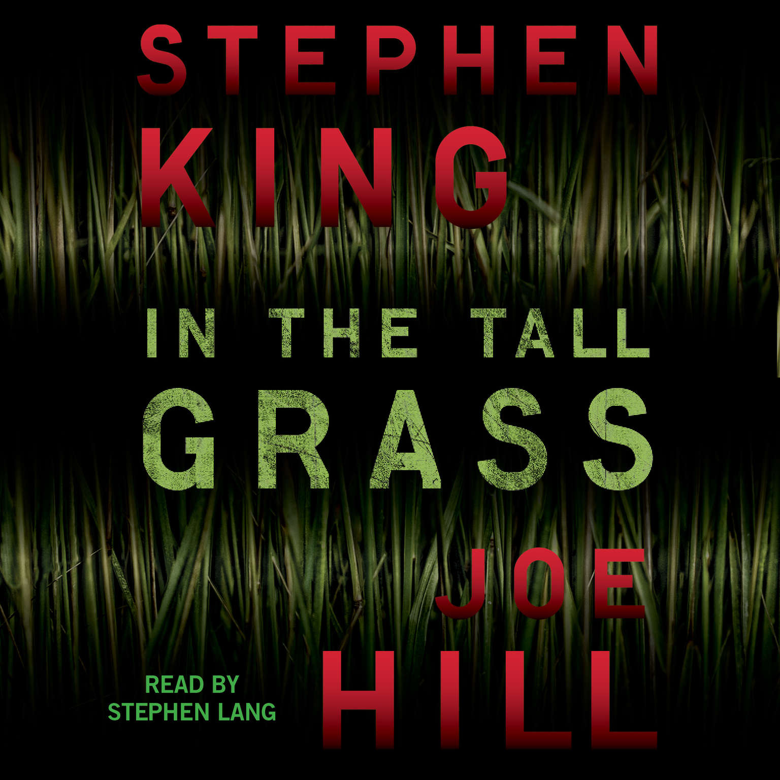 Printable In the Tall Grass Audiobook Cover Art