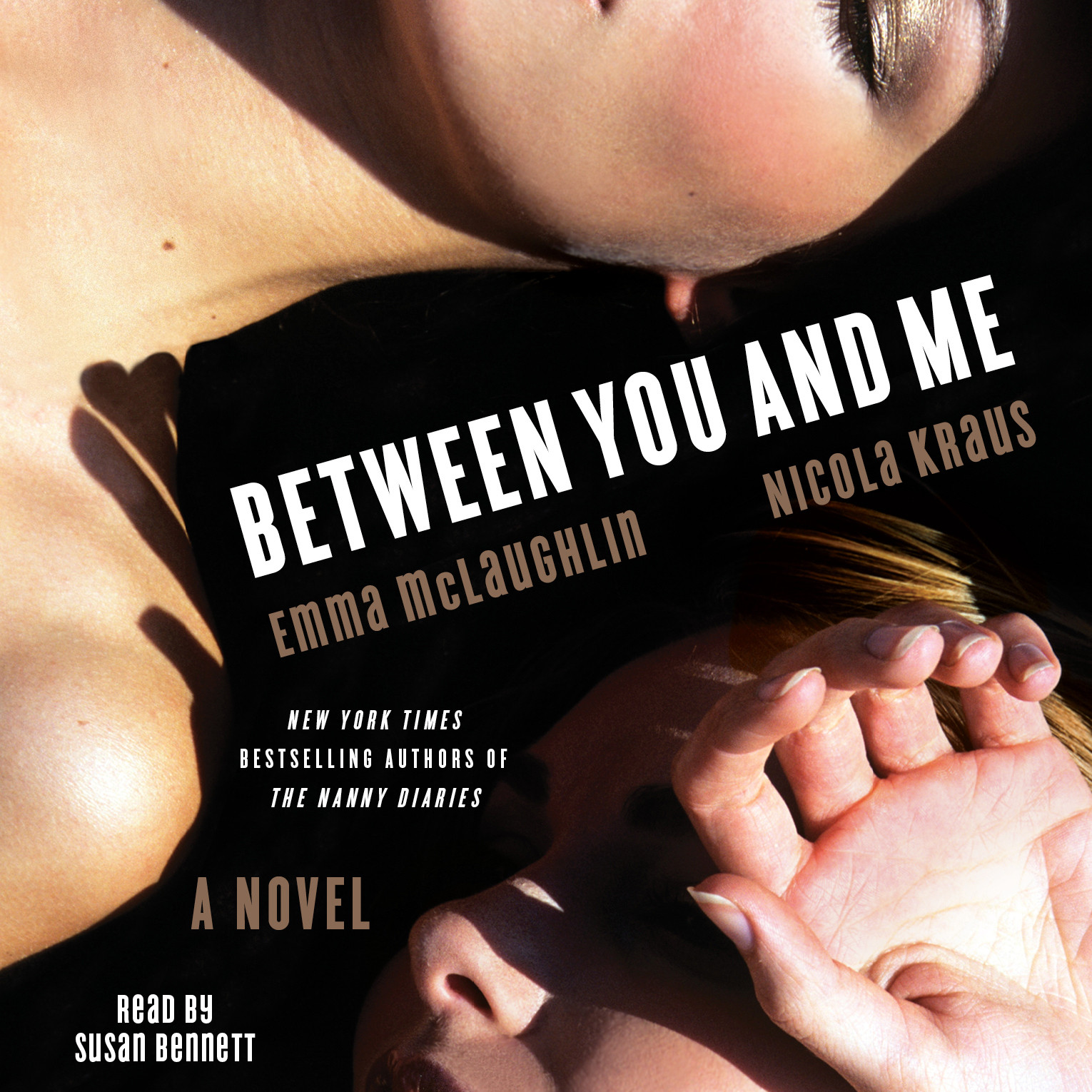 Printable Between You and Me: A Novel Audiobook Cover Art