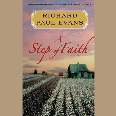 Printable A Step of Faith: A Novel Audiobook Cover Art