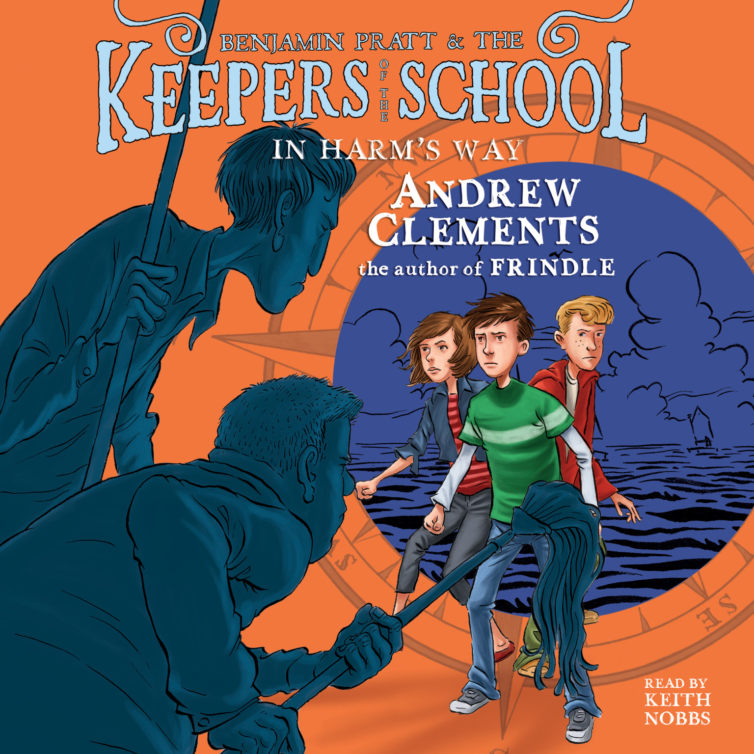 Printable In Harm's Way: Keepers of the School, Book 4 Audiobook Cover Art