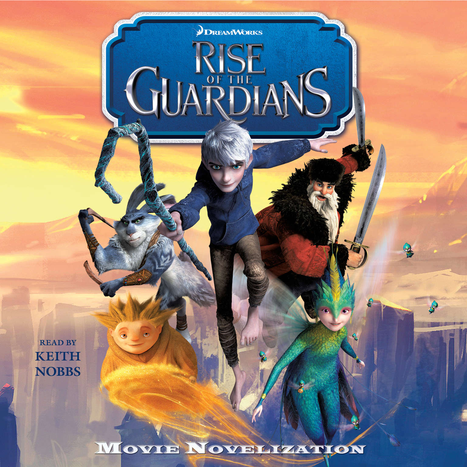 Printable Rise of the Guardians Movie Novelization: Movie Novelization Audiobook Cover Art