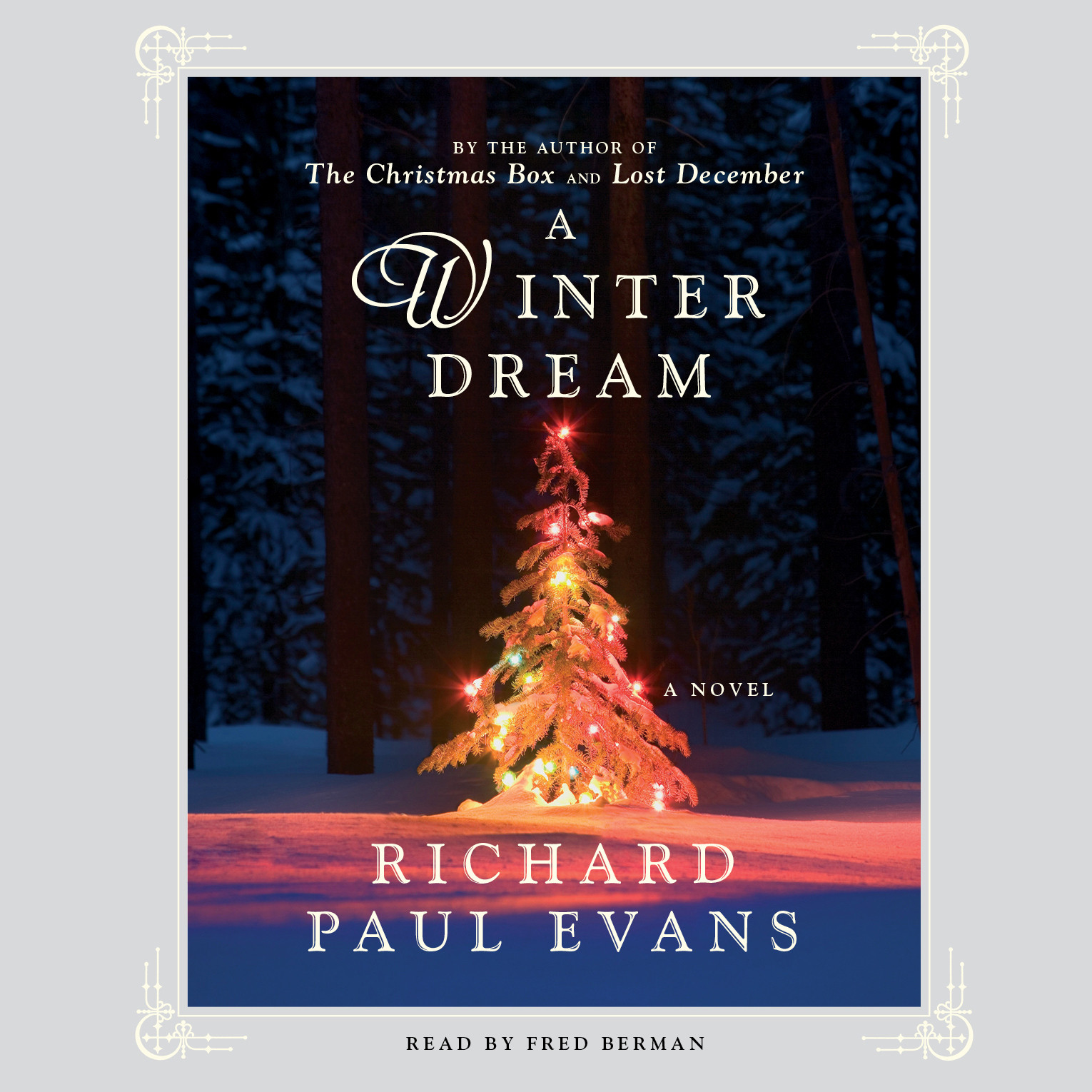 Printable A Winter Dream: A Novel Audiobook Cover Art