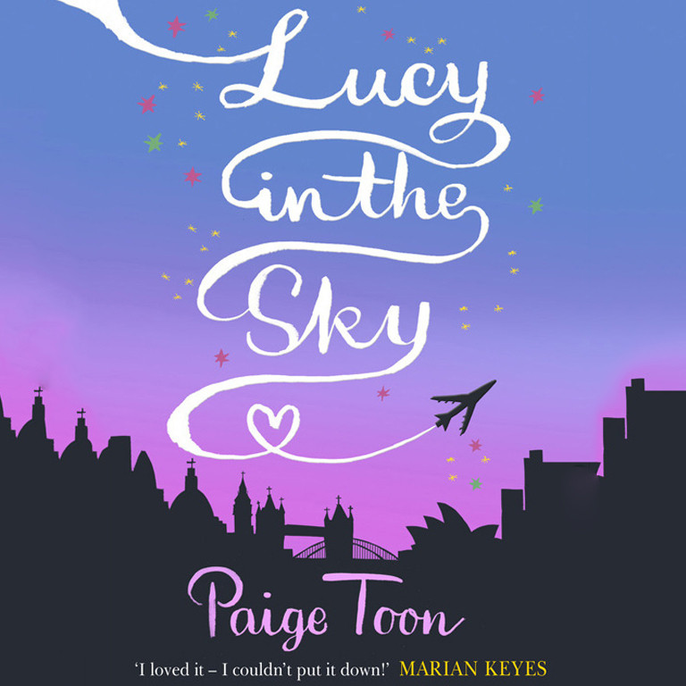 Printable Lucy in the Sky Audiobook Cover Art