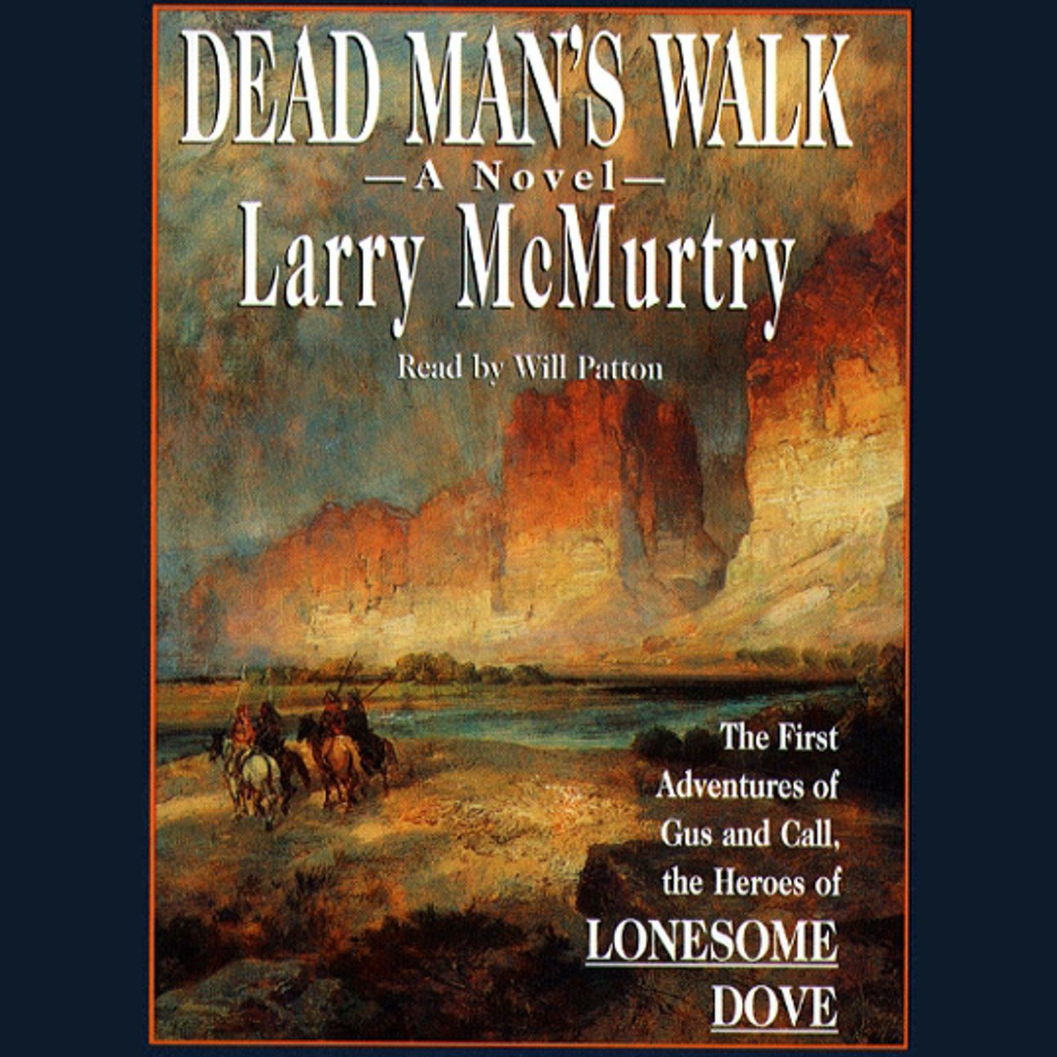 Printable Dead Man's Walk Audiobook Cover Art