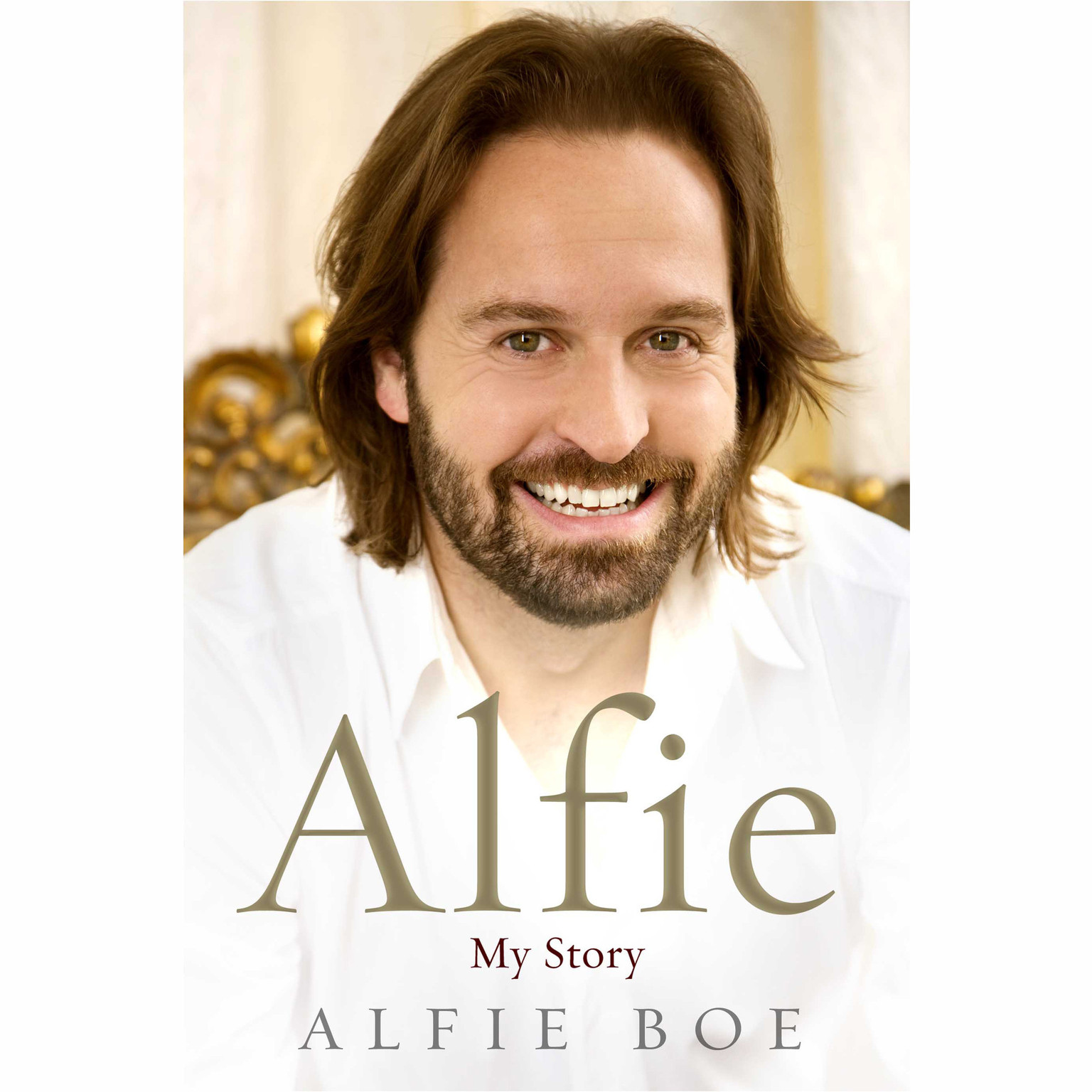 Printable Alfie: My Story Audiobook Cover Art