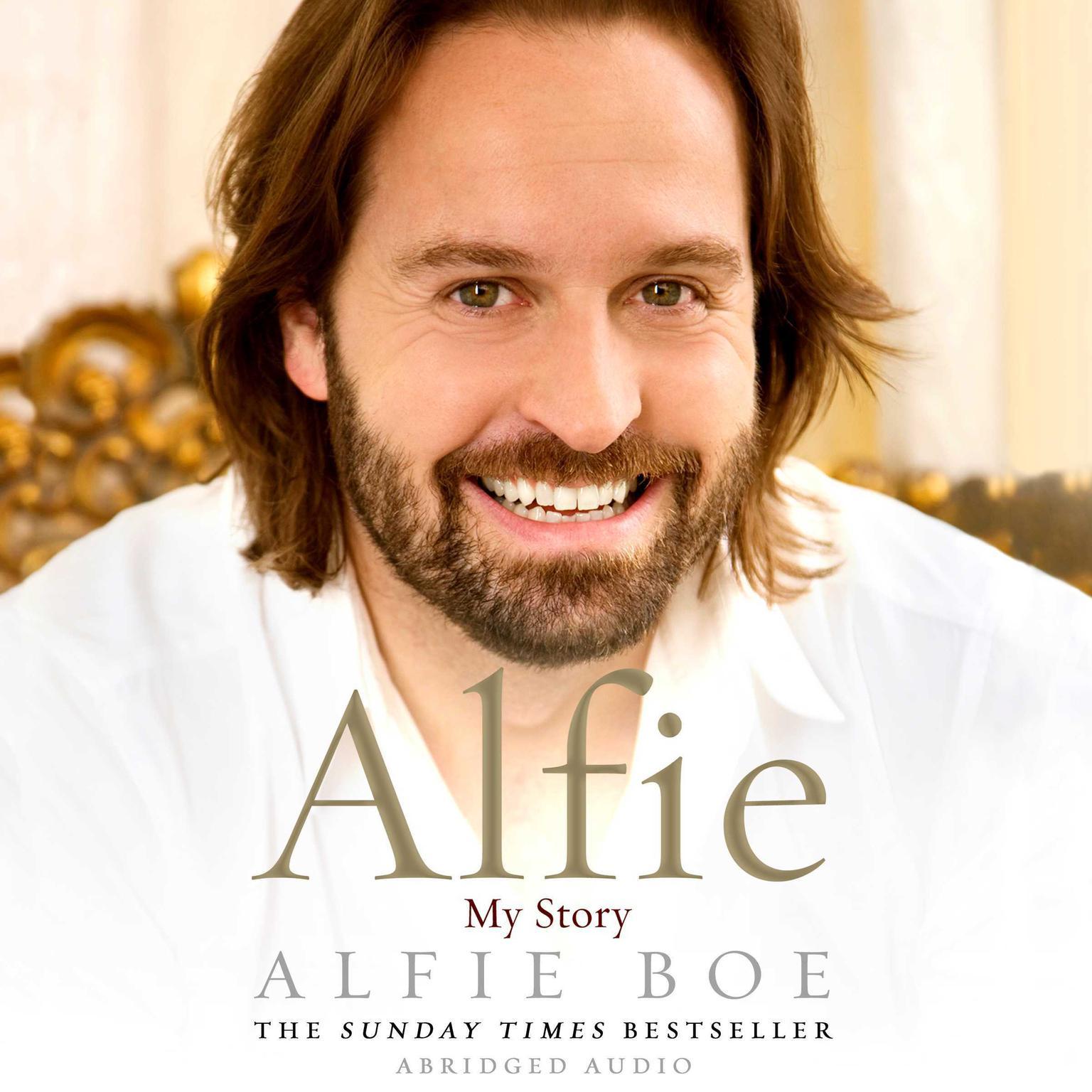 Printable Alfie: My Story Audiobook Cover Art
