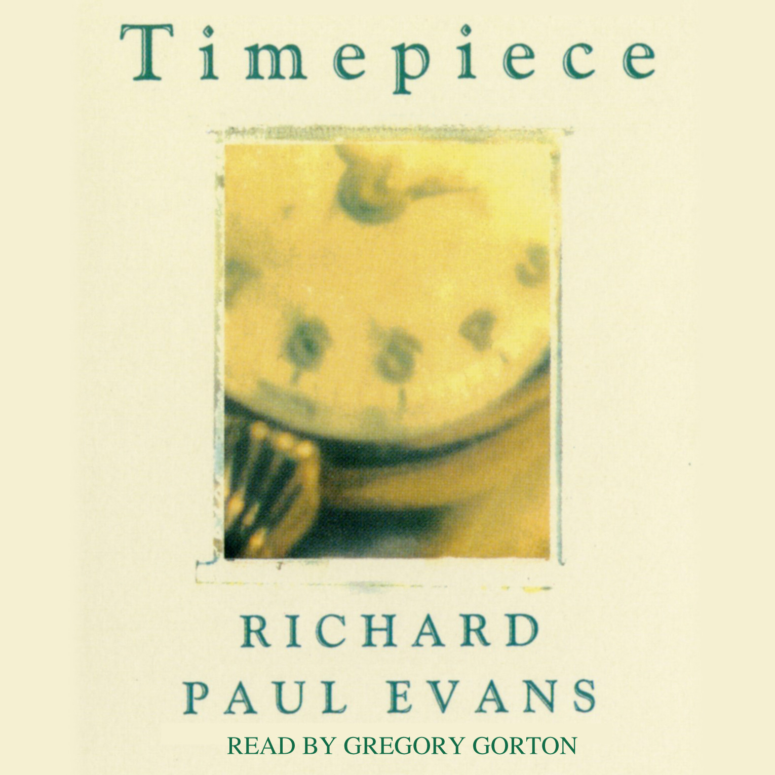 Printable Timepiece Audiobook Cover Art